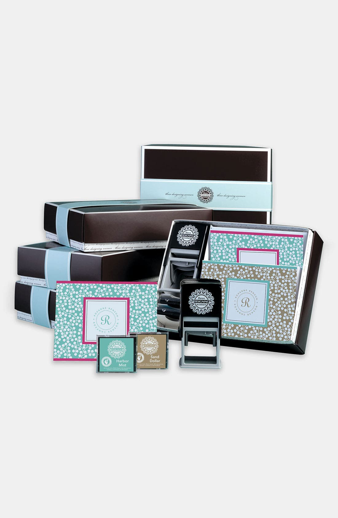 Main Image - Personalized Stamp & Note Card Set