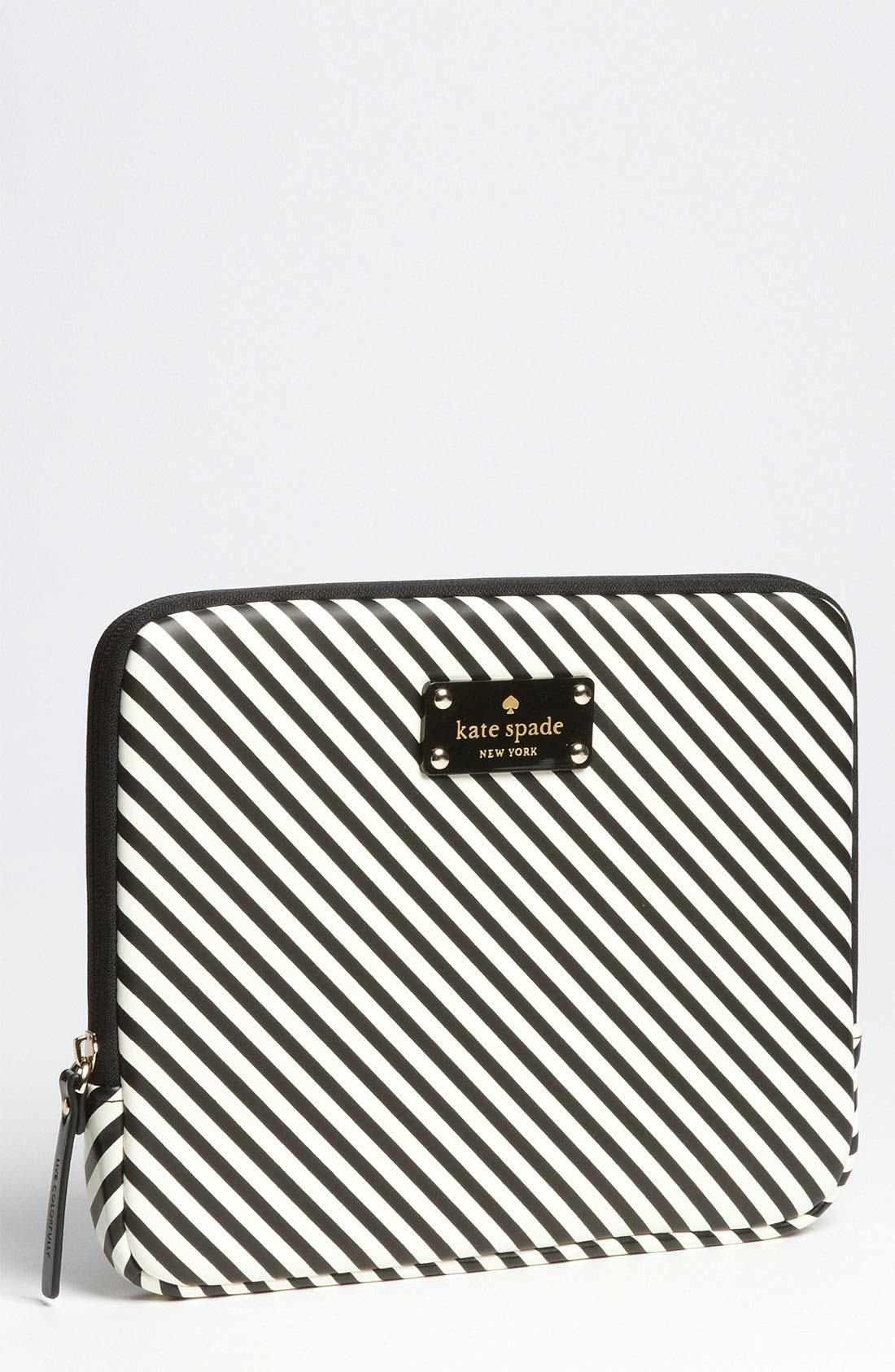 Main Image - kate spade new york 'harrison - stripe' iPad sleeve