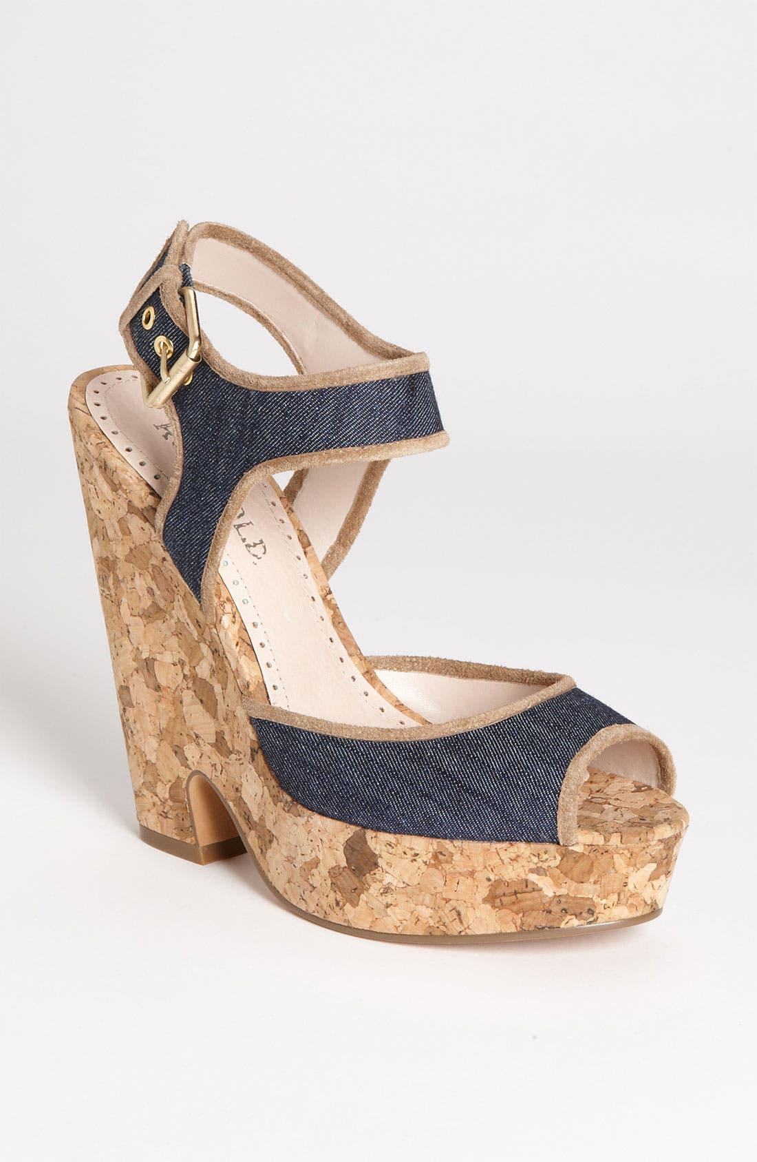 Alternate Image 1 Selected - Rosegold 'Lara' Sandal