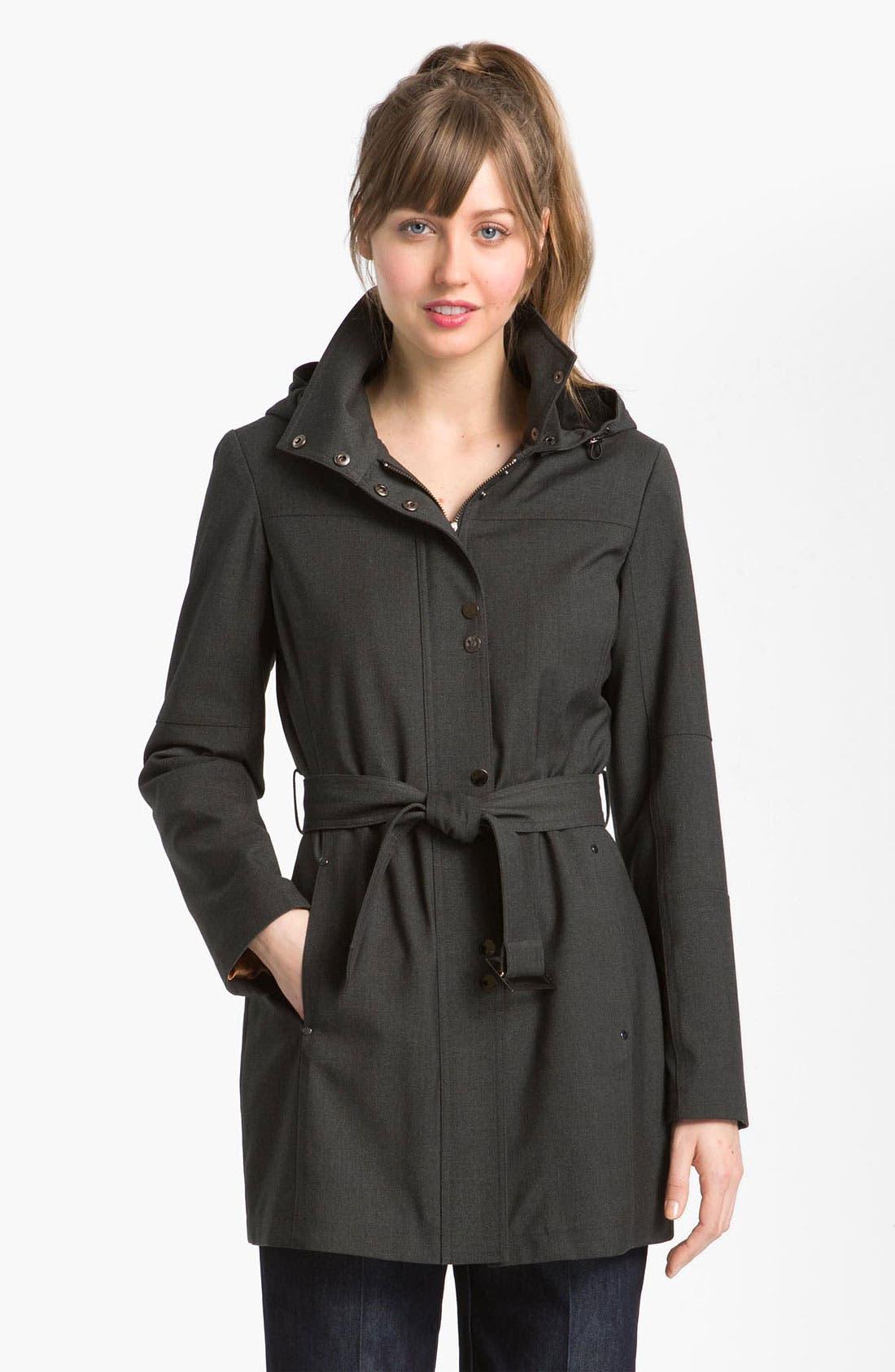 Alternate Image 1 Selected - Kristen Blake Belted Coat