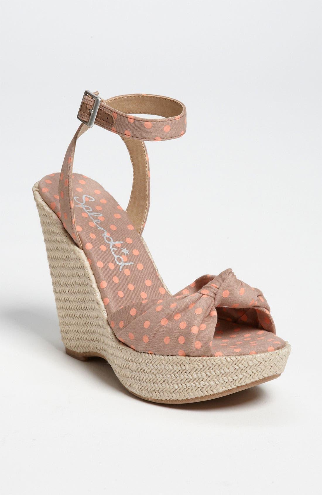 Alternate Image 1 Selected - Splendid 'Lustful' Sandal