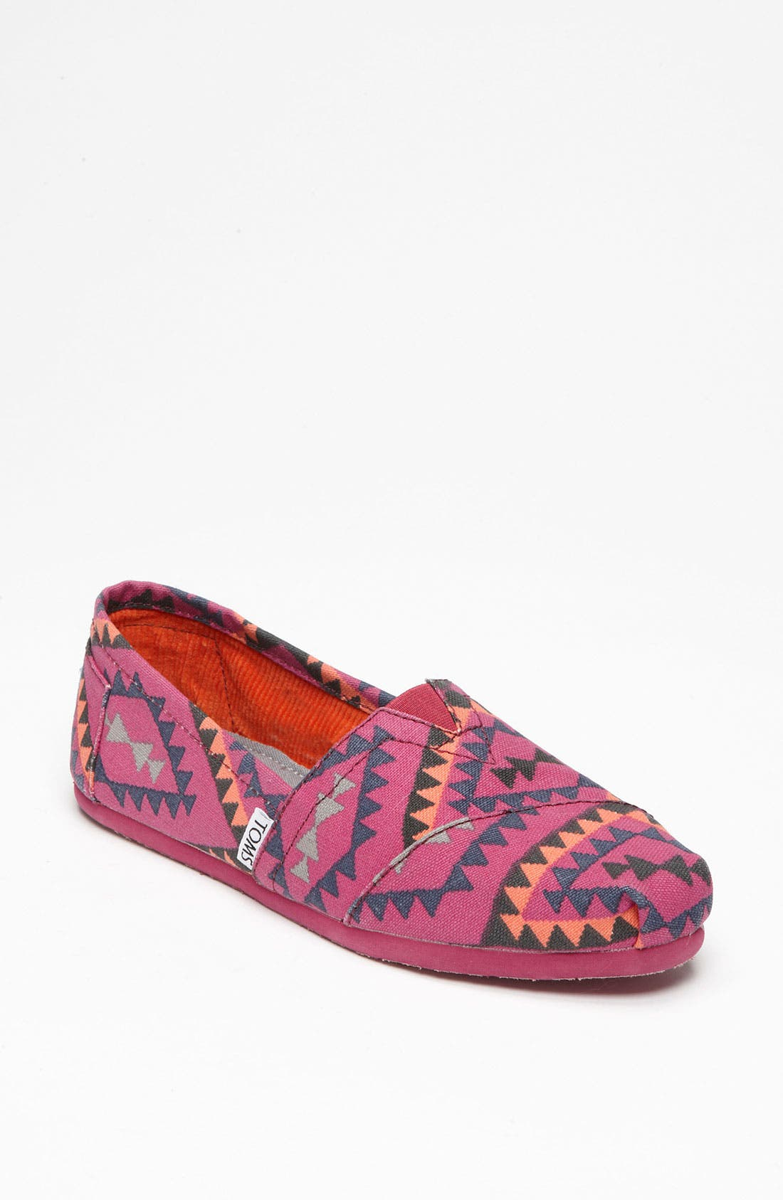 Alternate Image 1 Selected - TOMS 'Classic - Indo' Slip-On (Women)