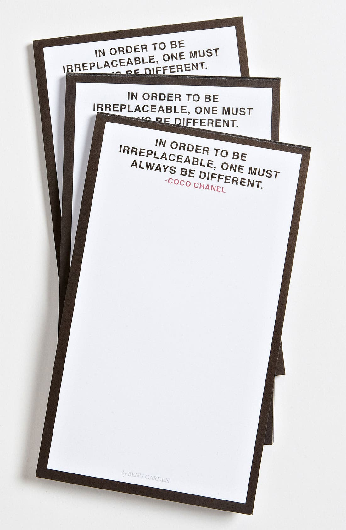 Alternate Image 1 Selected - Ben's Garden 'To Be Different' Notepads (3-Pack)
