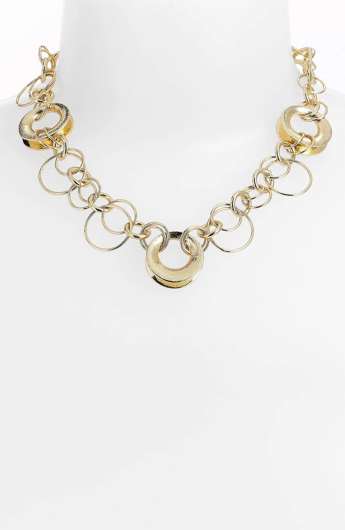 Main Image - Anne Klein Link Collar Necklace