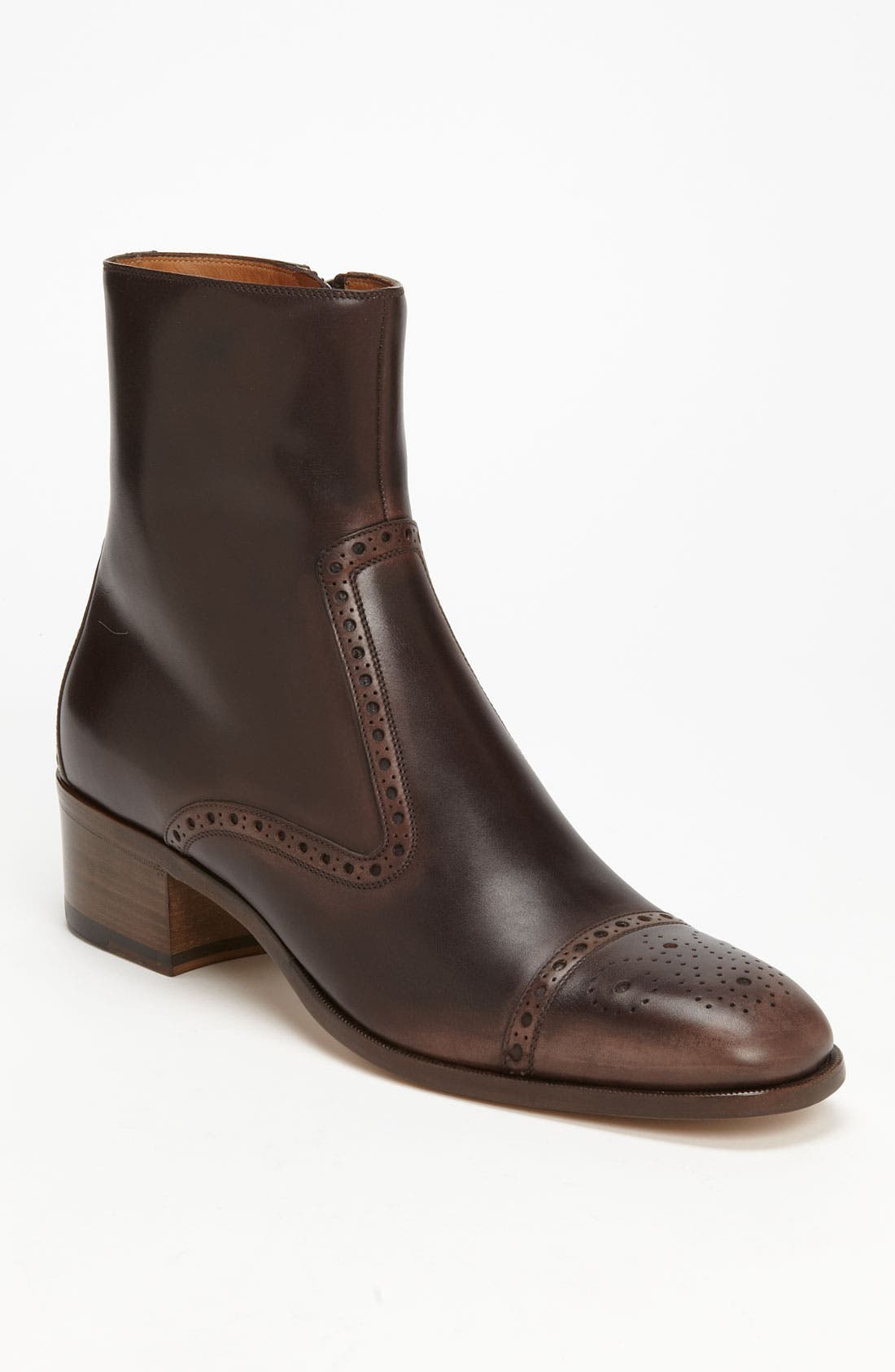 Main Image - Gucci 'Daugerre' Cap Toe Boot (Online Only)