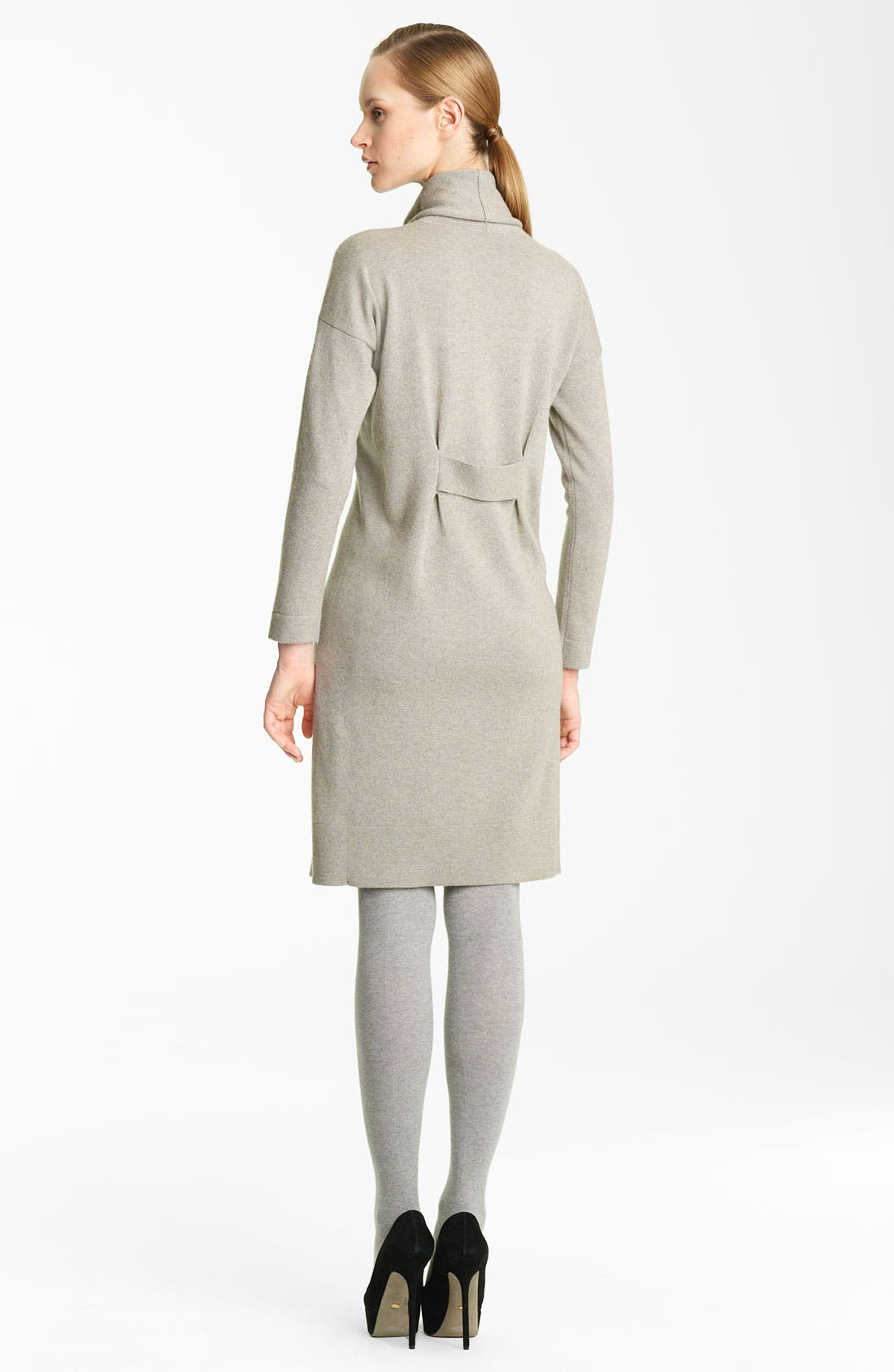 Alternate Image 2  - Fabiana Filippi Turtleneck Cashmere Dress