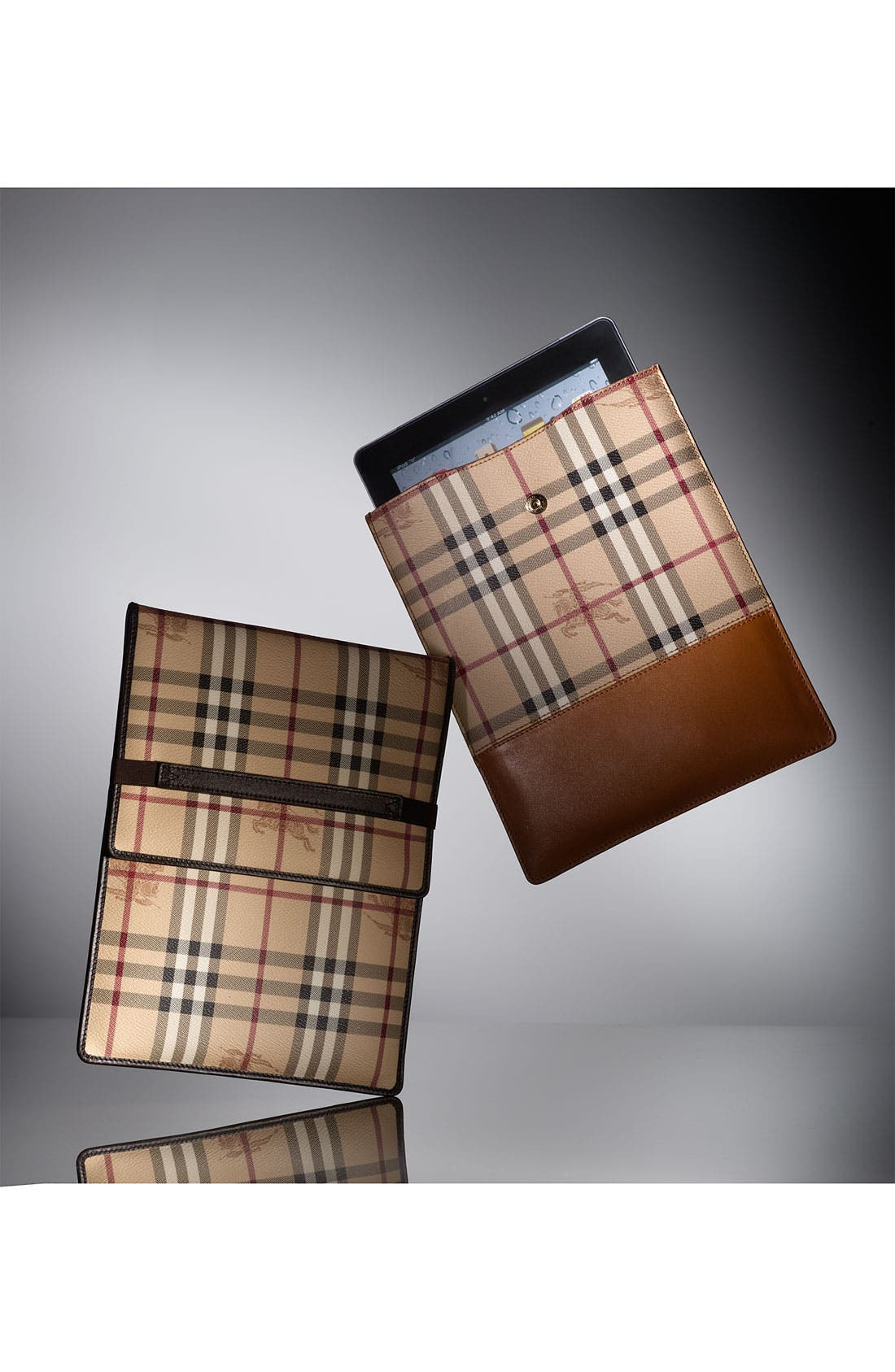 Alternate Image 5  - Burberry 'Haymarket Check' iPad Sleeve