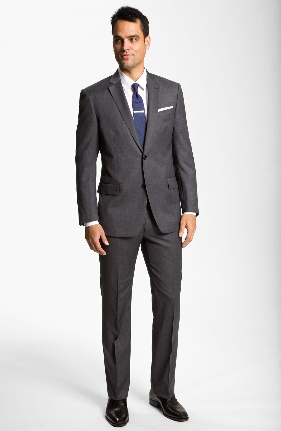 Alternate Image 4  - John Varvatos Star USA 'Thompson' Wool Trousers