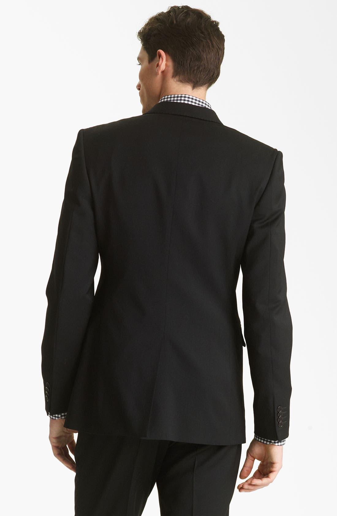 Alternate Image 2  - Shipley & Halmos 'Green Classic ' Suit Blazer