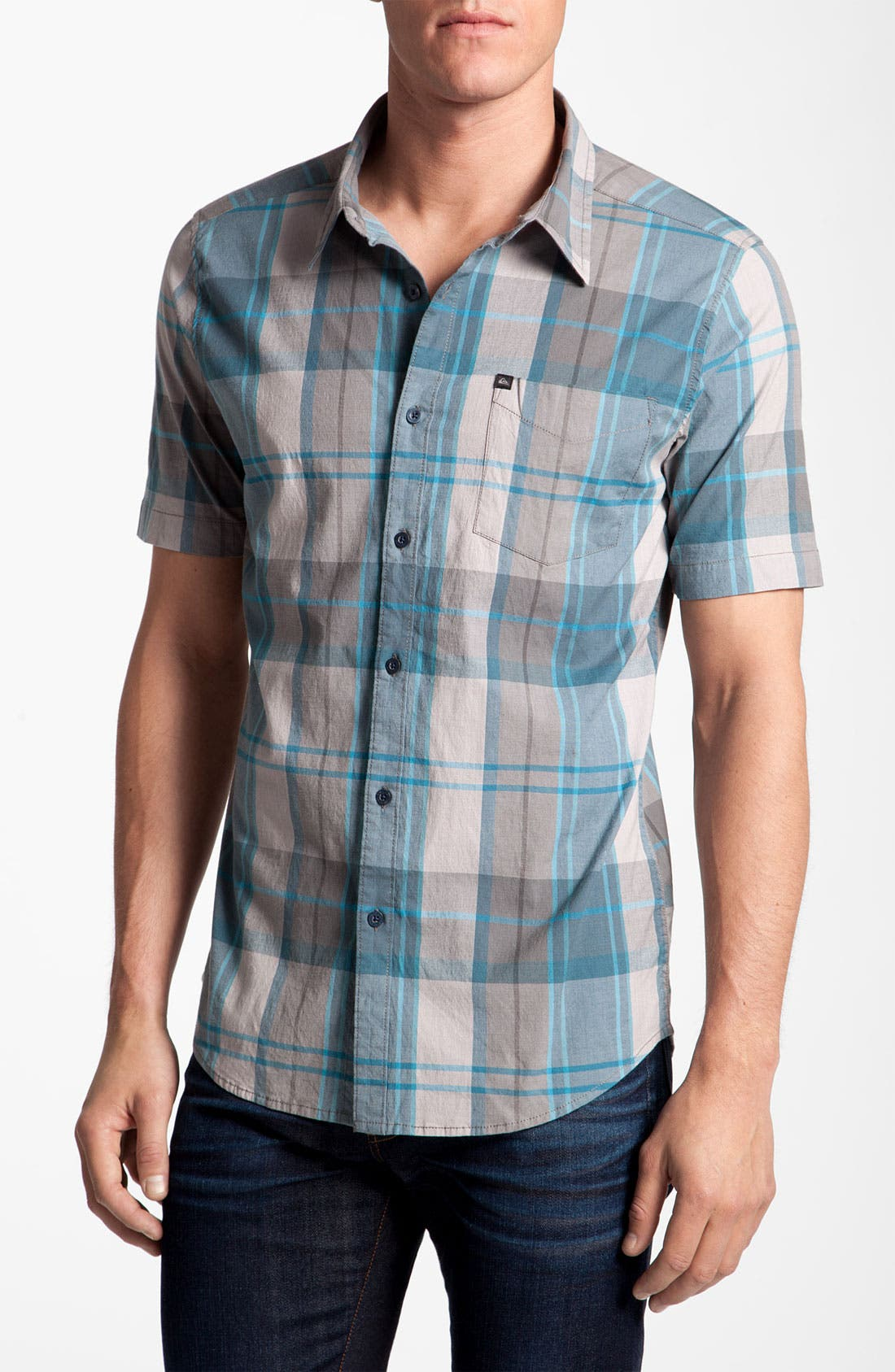 Alternate Image 1 Selected - Quiksilver 'Space Signs' Woven Shirt