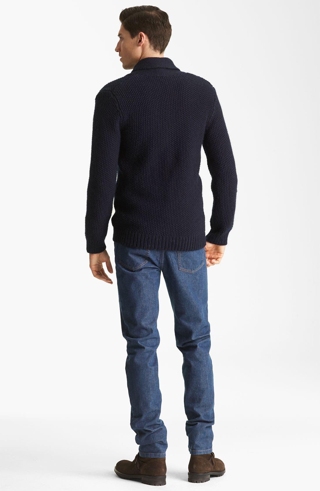 Alternate Image 5  - A.P.C. Gingham Shirt