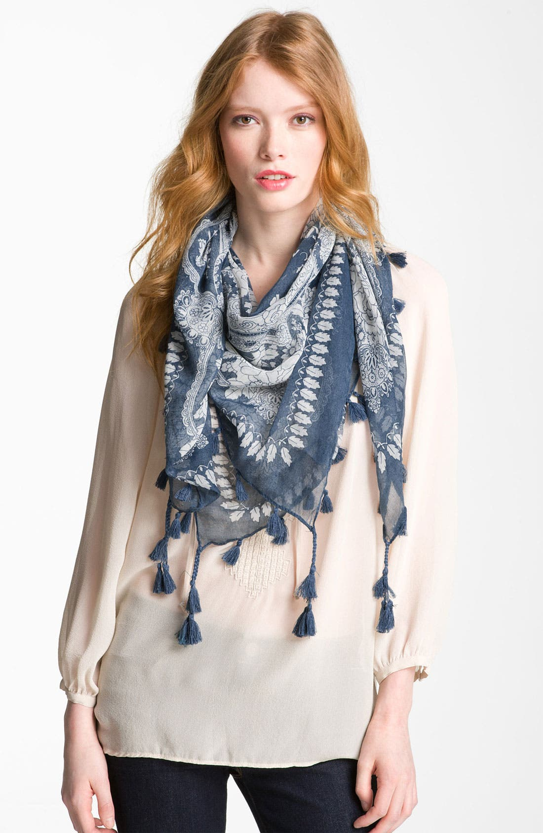 Alternate Image 1 Selected - Accessory Street Floral Print Scarf