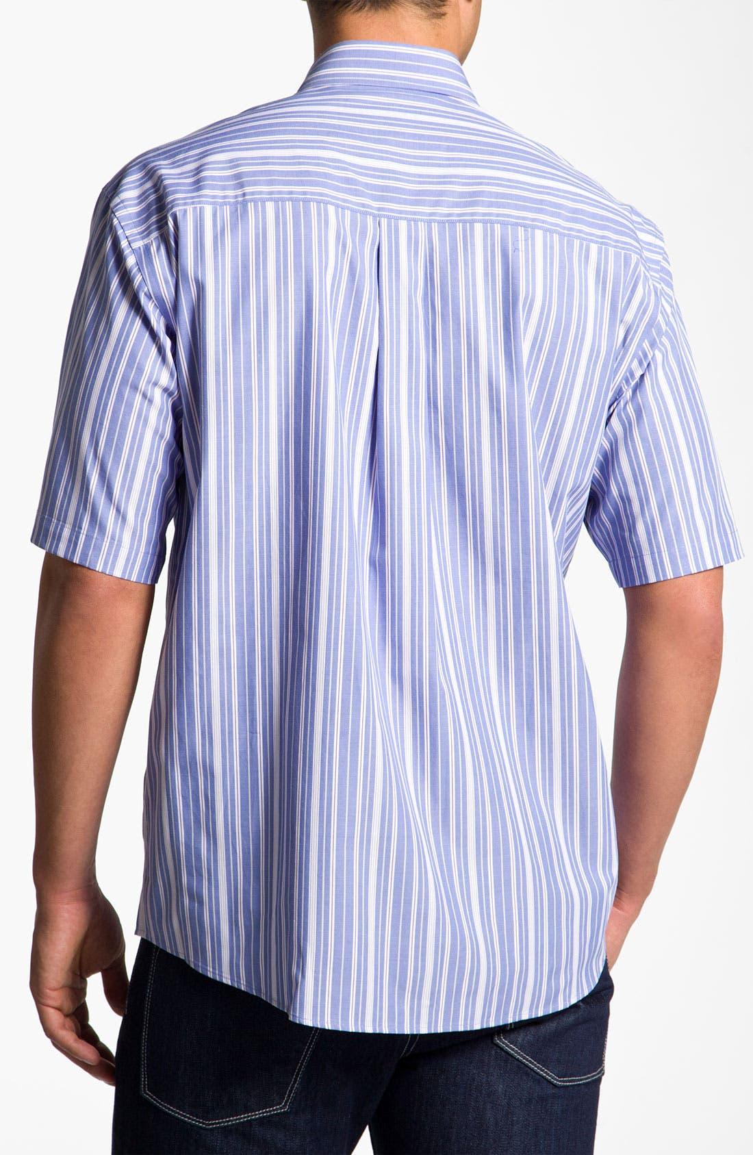 Alternate Image 2  - Cutter & Buck 'Beach Access' Stripe Sport Shirt