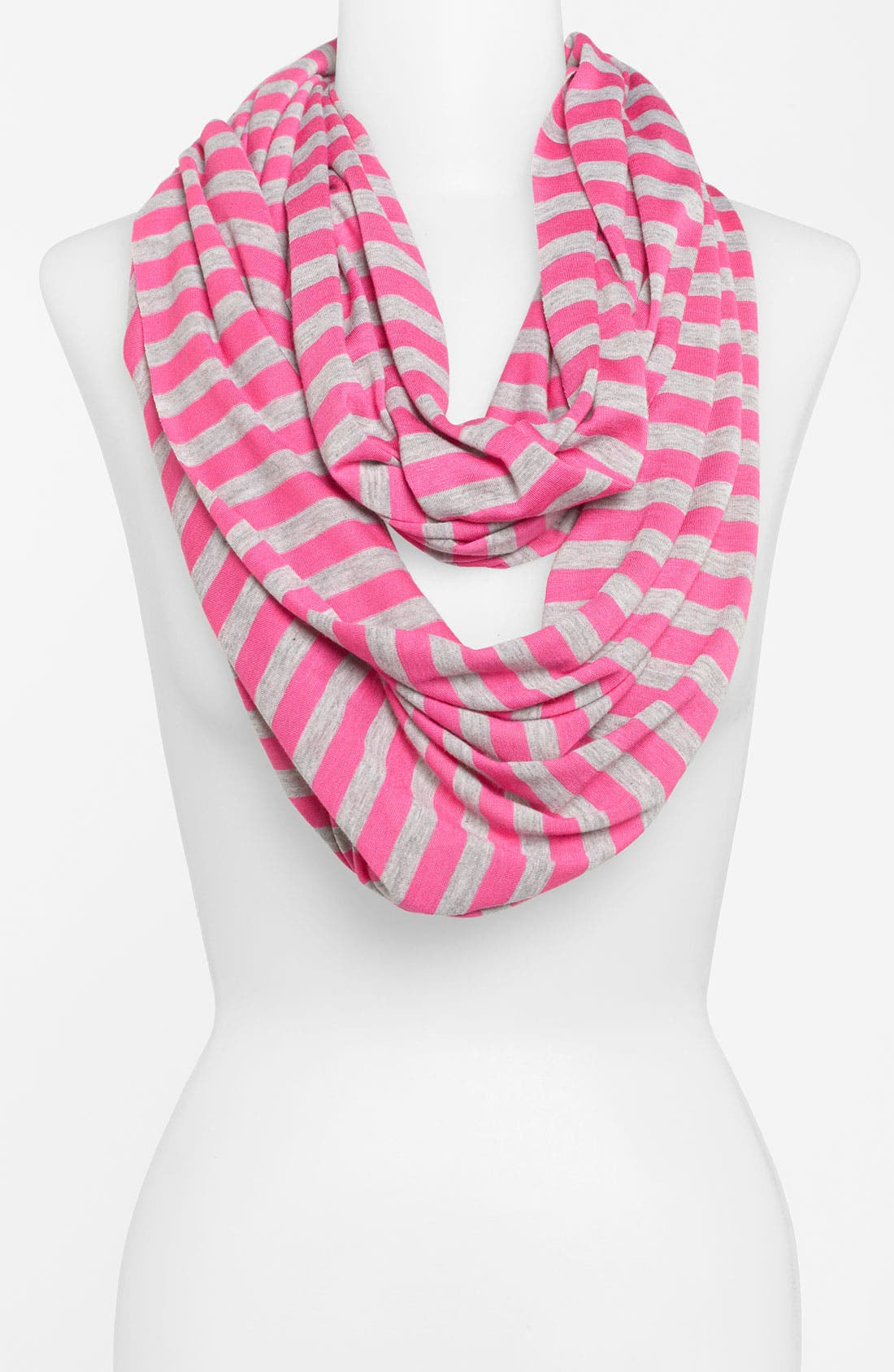 Alternate Image 1 Selected - Raj Imports Stripe Infinity Scarf