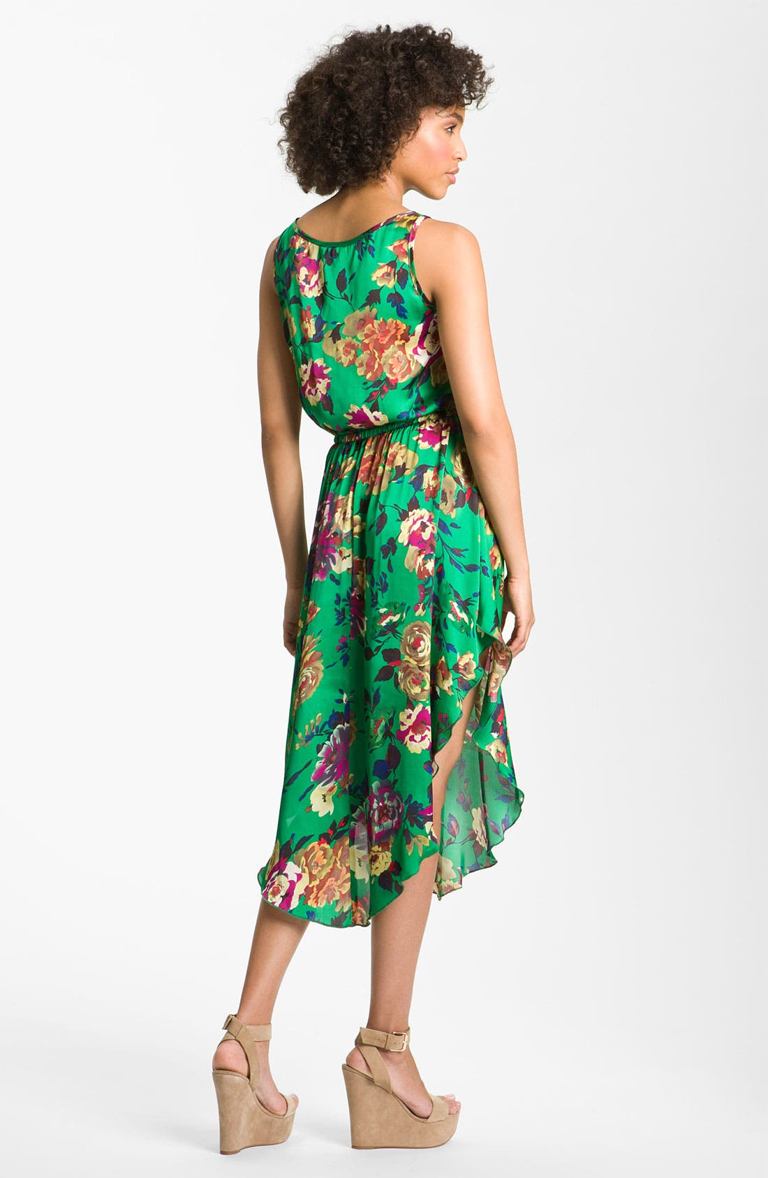 Alternate Image 2  - Romeo & Juliet Couture Floral Dress