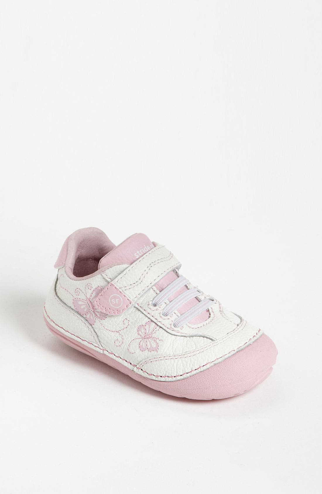 Sneaker,                         Main,                         color, White/ Pink
