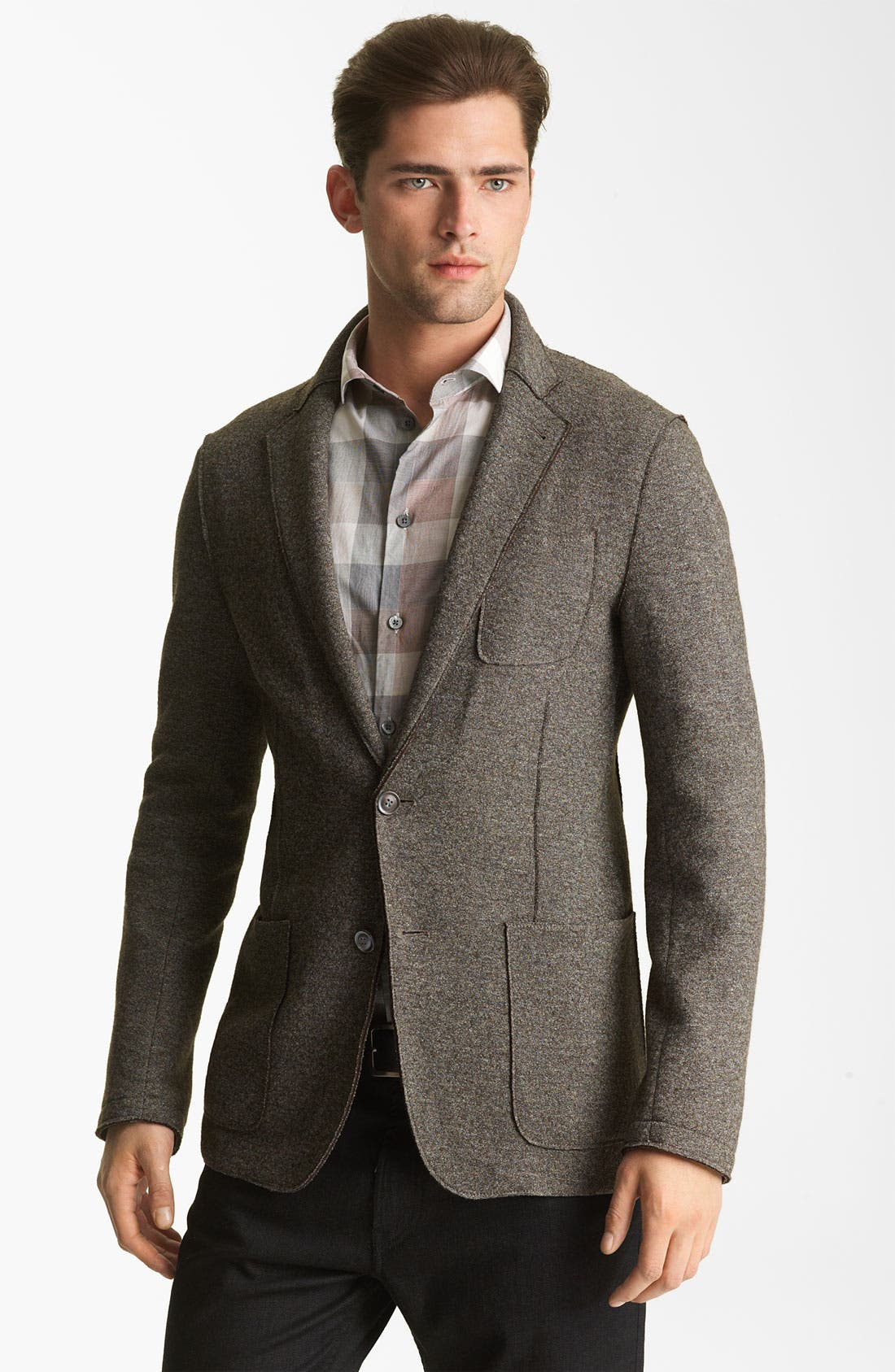 Alternate Image 1 Selected - Armani Collezioni Wool Blend Sportcoat