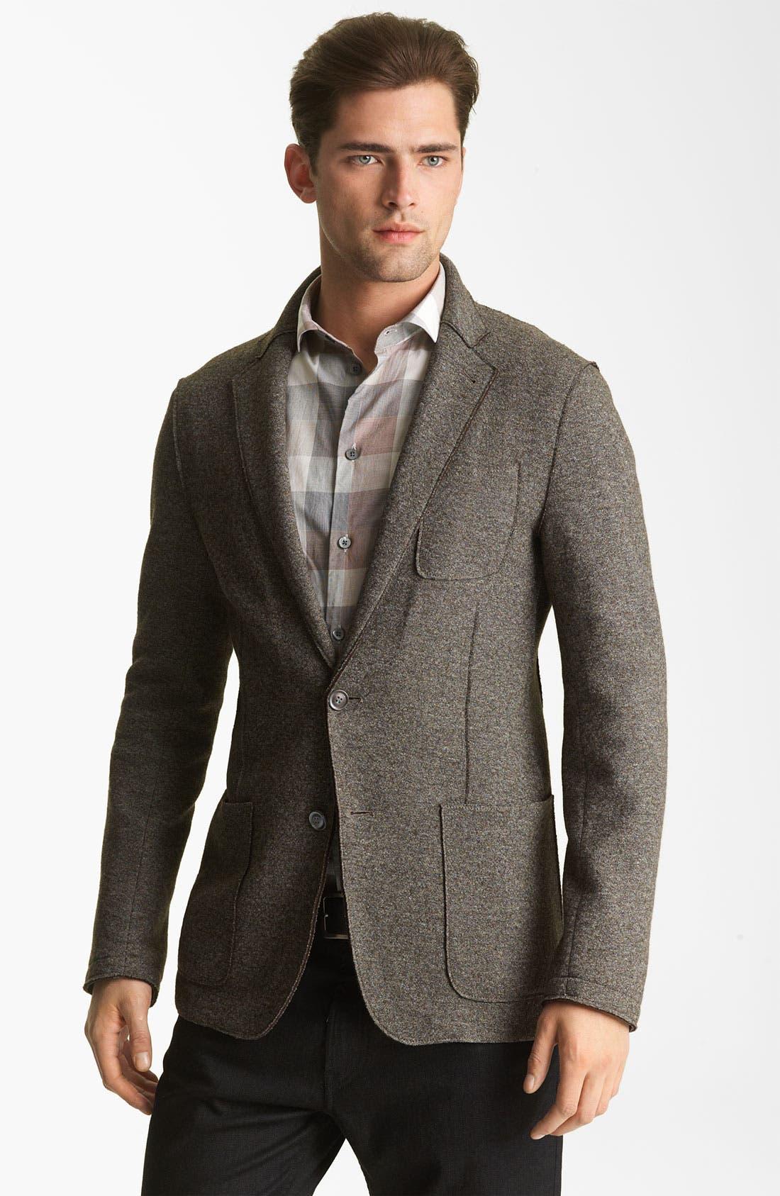 Main Image - Armani Collezioni Wool Blend Sportcoat