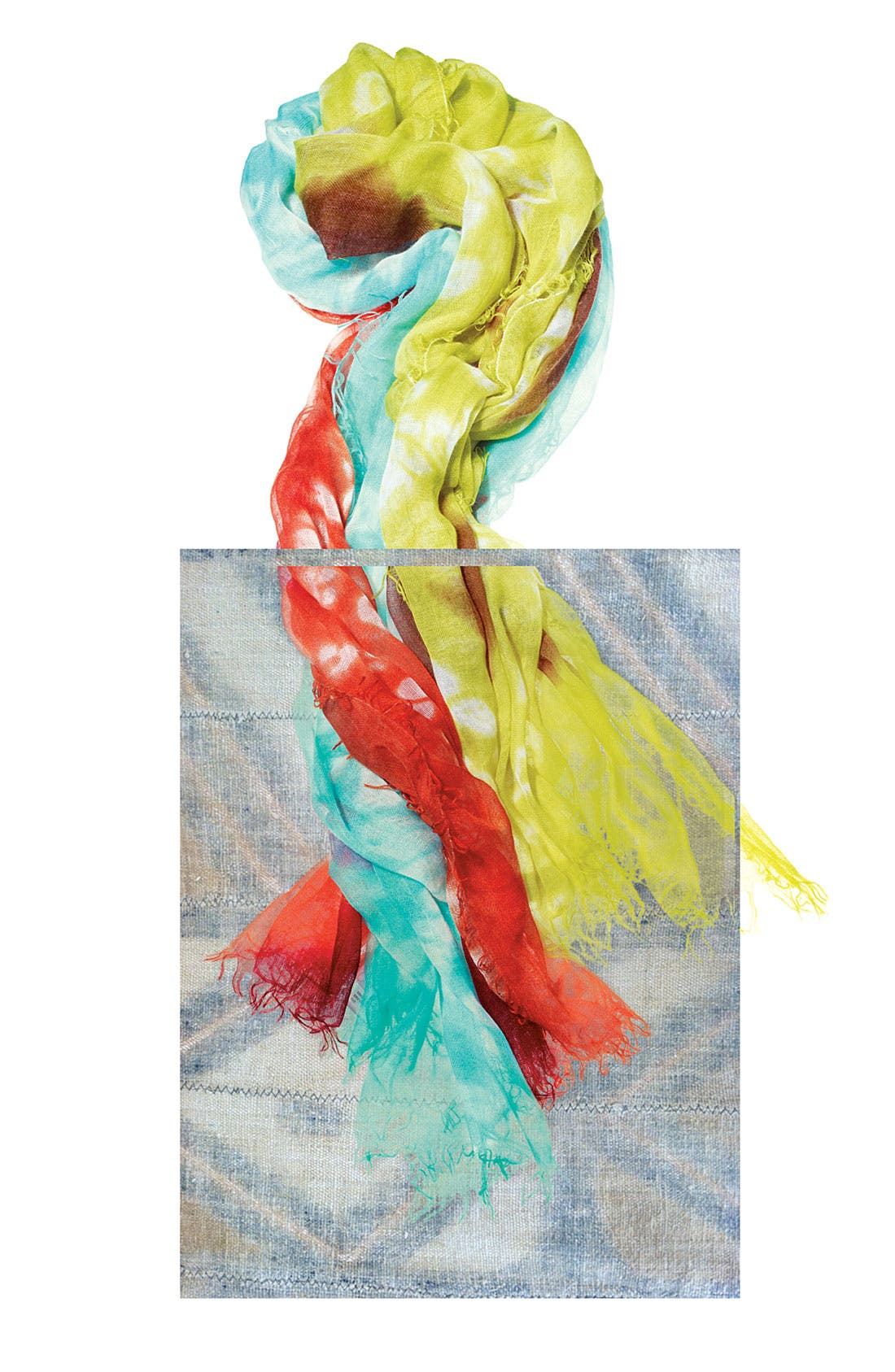 Alternate Image 2  - Jessica Simpson Tie Dye Wrap