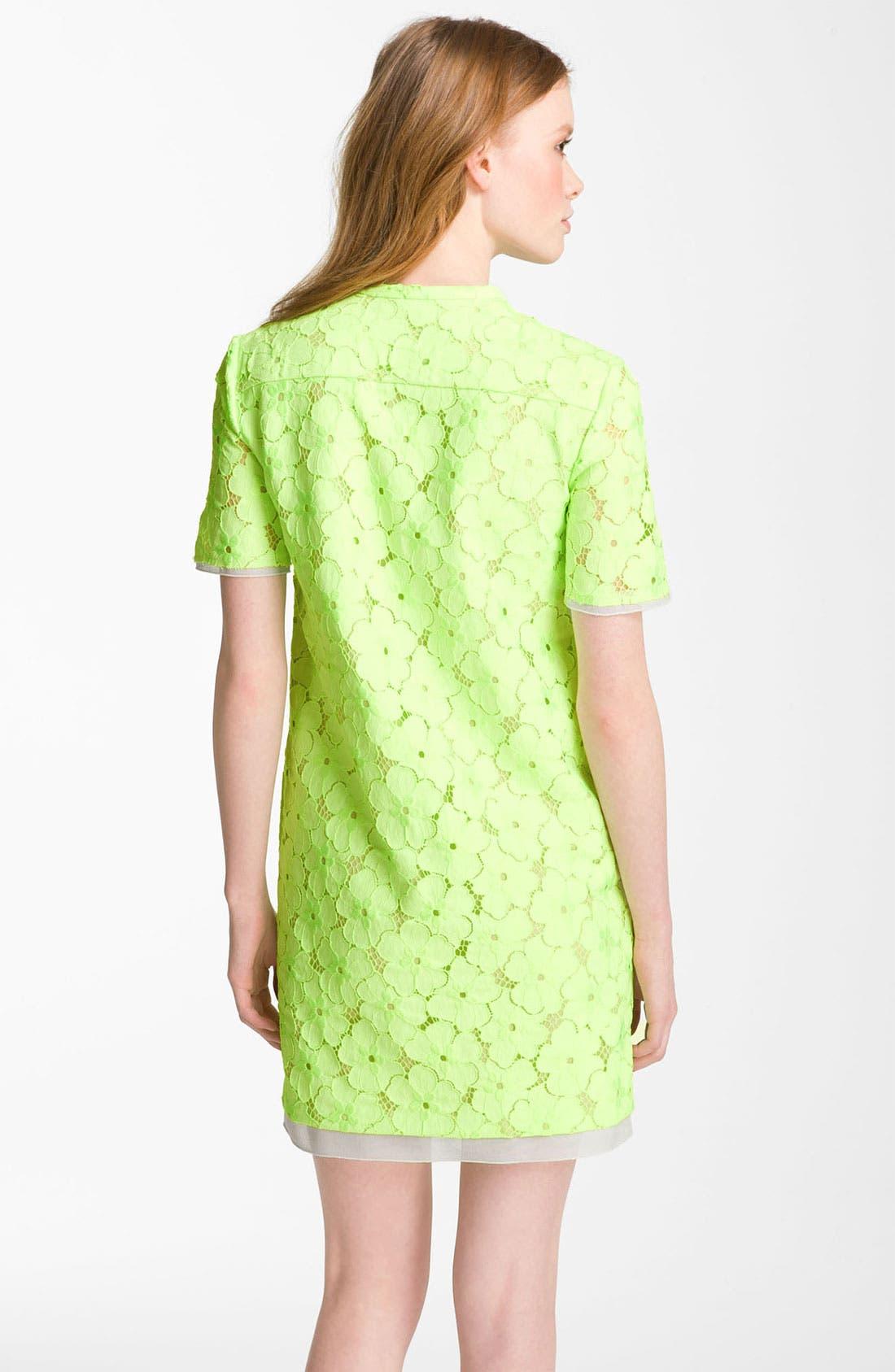 Alternate Image 2  - Diane von Furstenberg 'Warner' Lace Dress