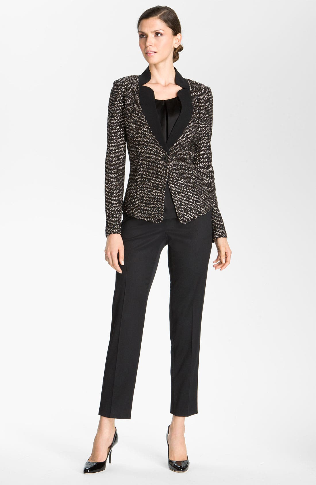 Alternate Image 1 Selected - St. John Collection Fitted Tweed Jacket