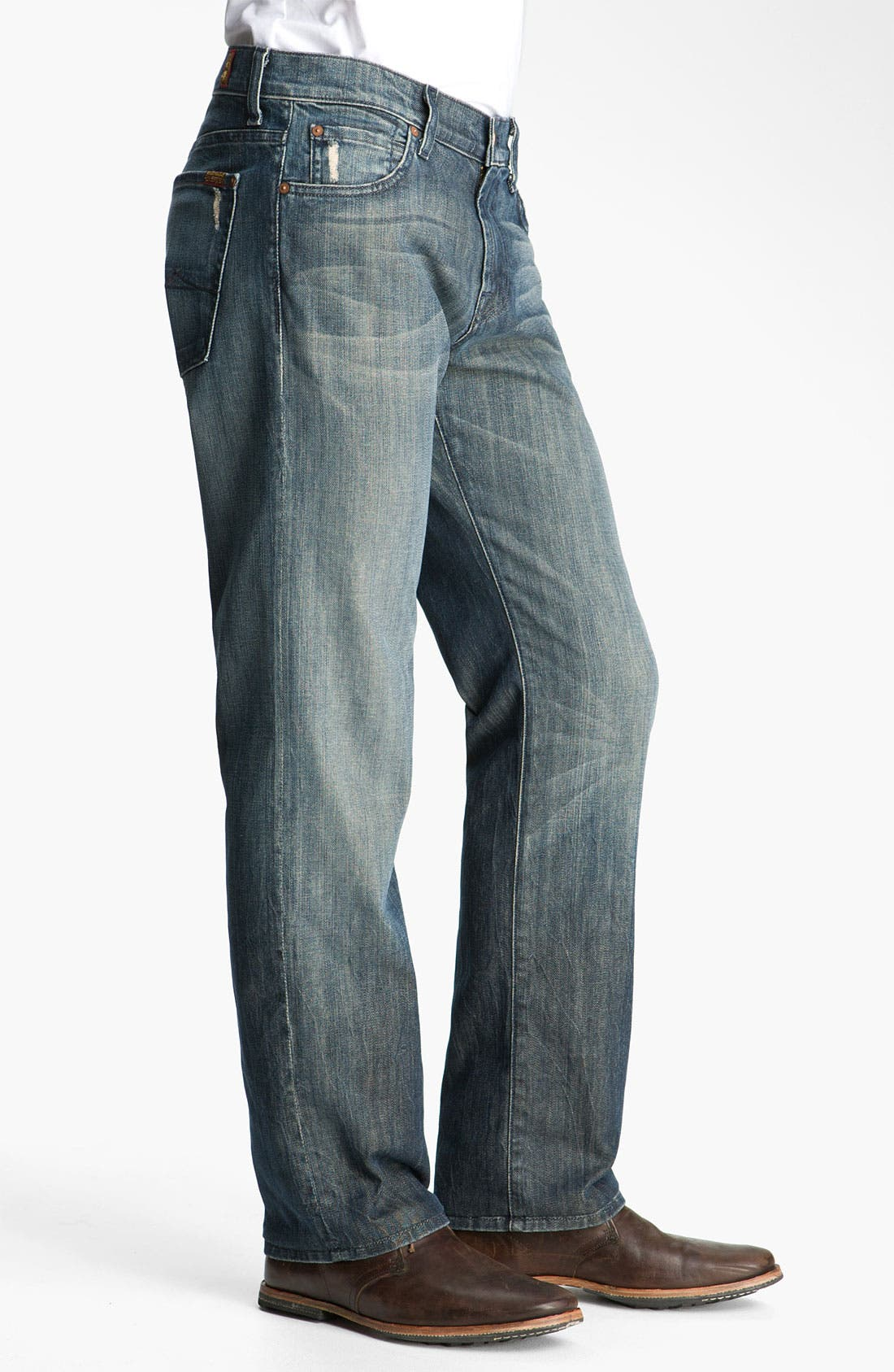 Alternate Image 3  - 7 For All Mankind® 'Austyn' Relaxed Fit Jeans (Melbourne)
