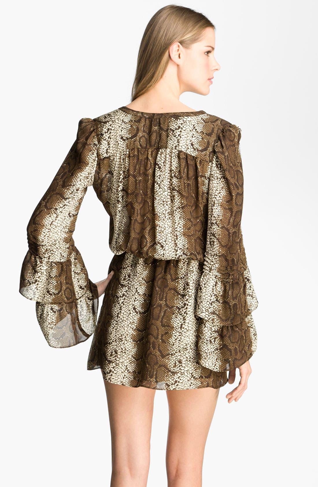 Alternate Image 2  - Parker 'Boho' Silk Minidress