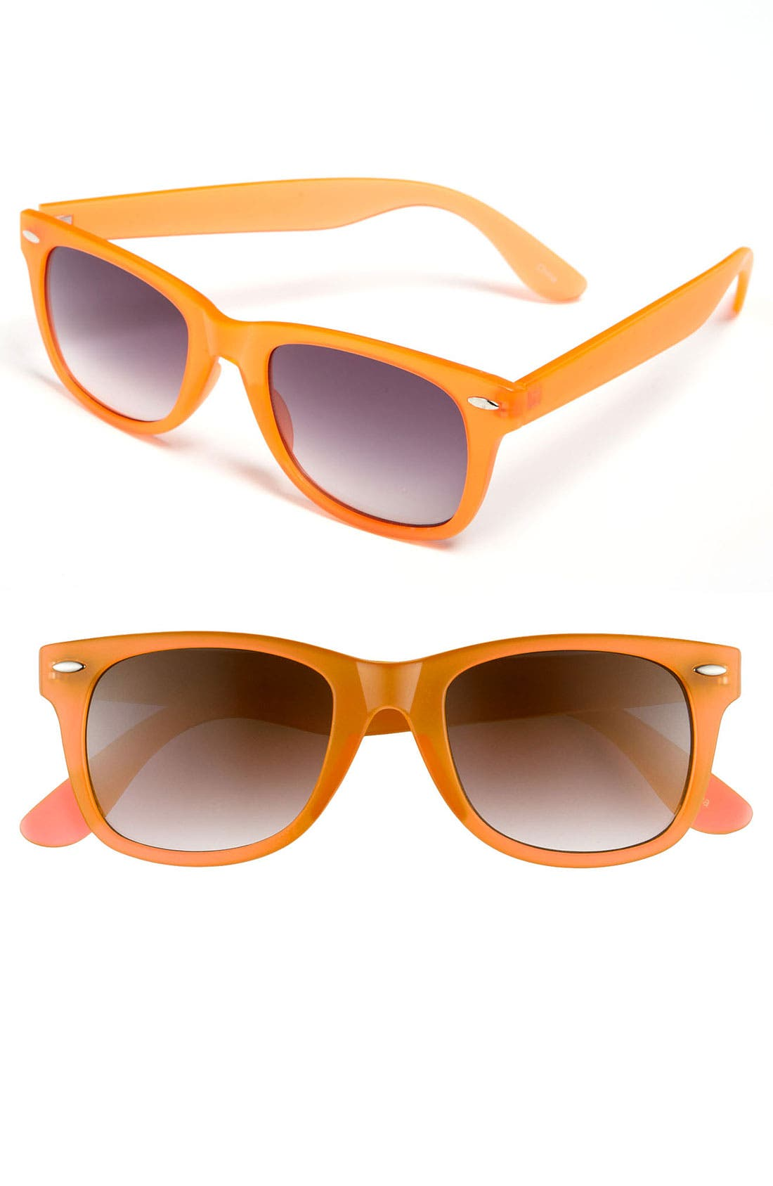 Main Image - Icon Eyewear 'Maureen' Retro Sunglasses (Juniors)