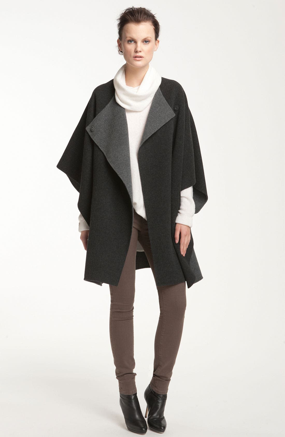 Alternate Image 1 Selected - Vince Two Tone Wool Cape