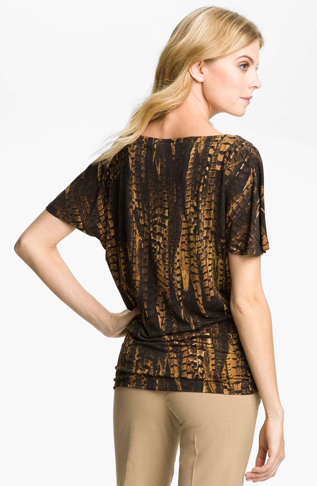 Alternate Image 2  - MICHAEL Michael Kors Drape Neck Top