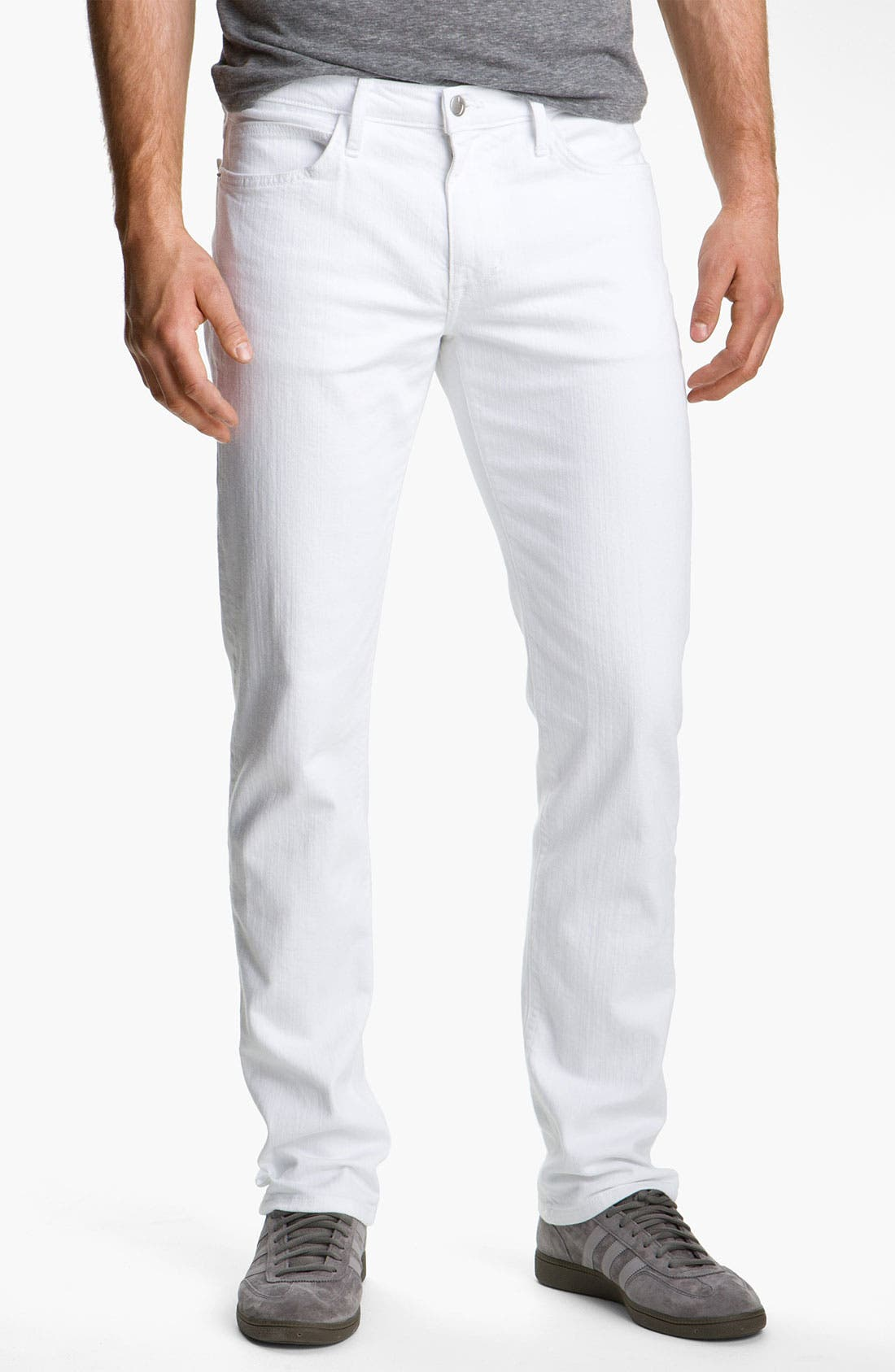 Alternate Image 2  - Joe's 'Brixton' Slim Straight Leg Jeans (Optic White)