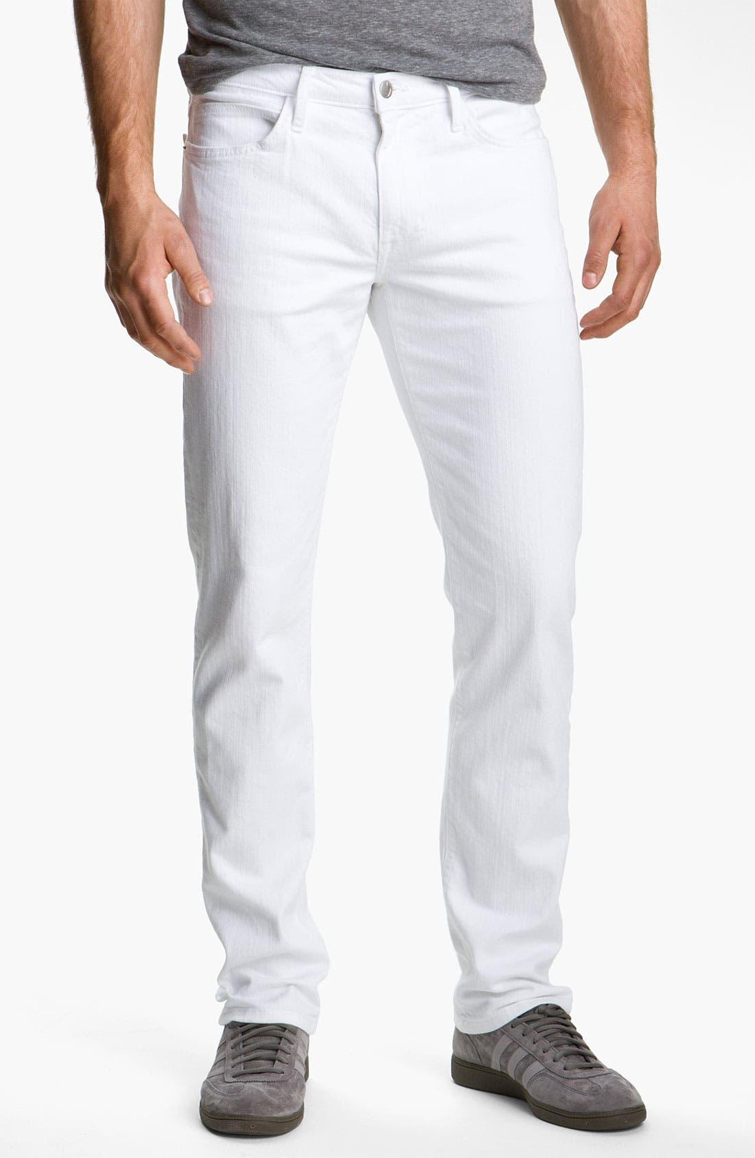 Alternate Image 2  - Joe's 'Brixton' Slim Straight Leg Jeans (Optic White)