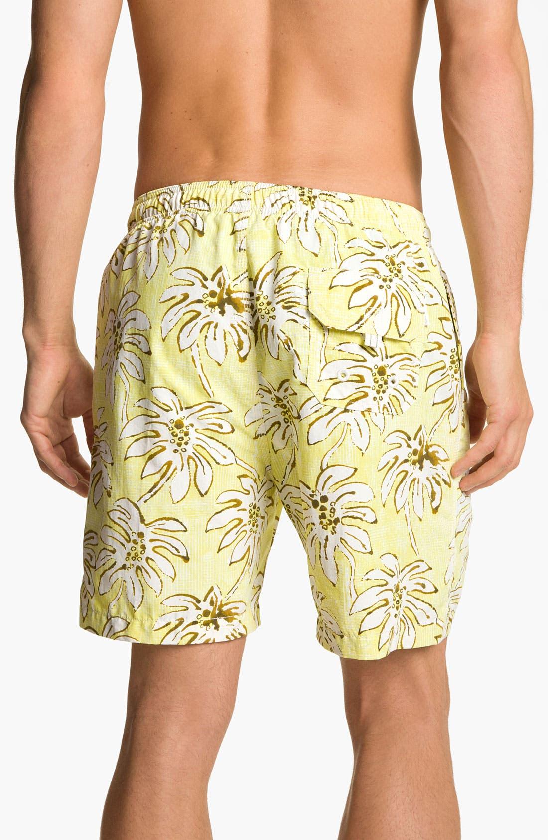 Alternate Image 2  - Tommy Bahama 'Palm Down' Swim Trunks