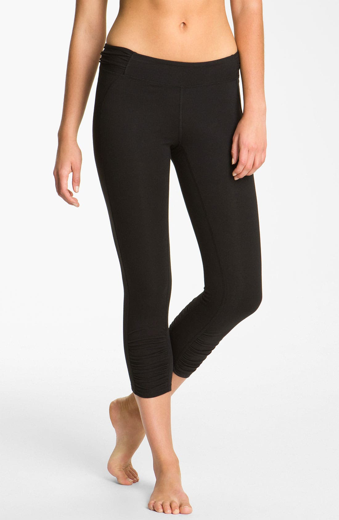 Alternate Image 1 Selected - Alo 'Zen' Shirred Capris