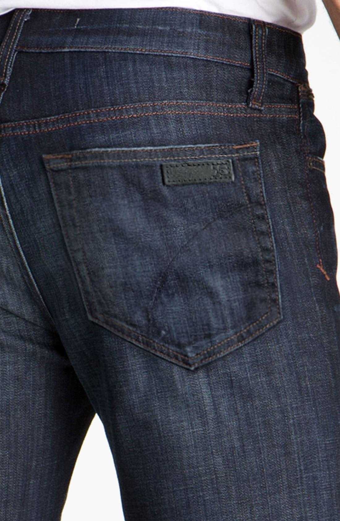 'Classic' Straight Leg Jeans,                             Alternate thumbnail 4, color,                             Dixon