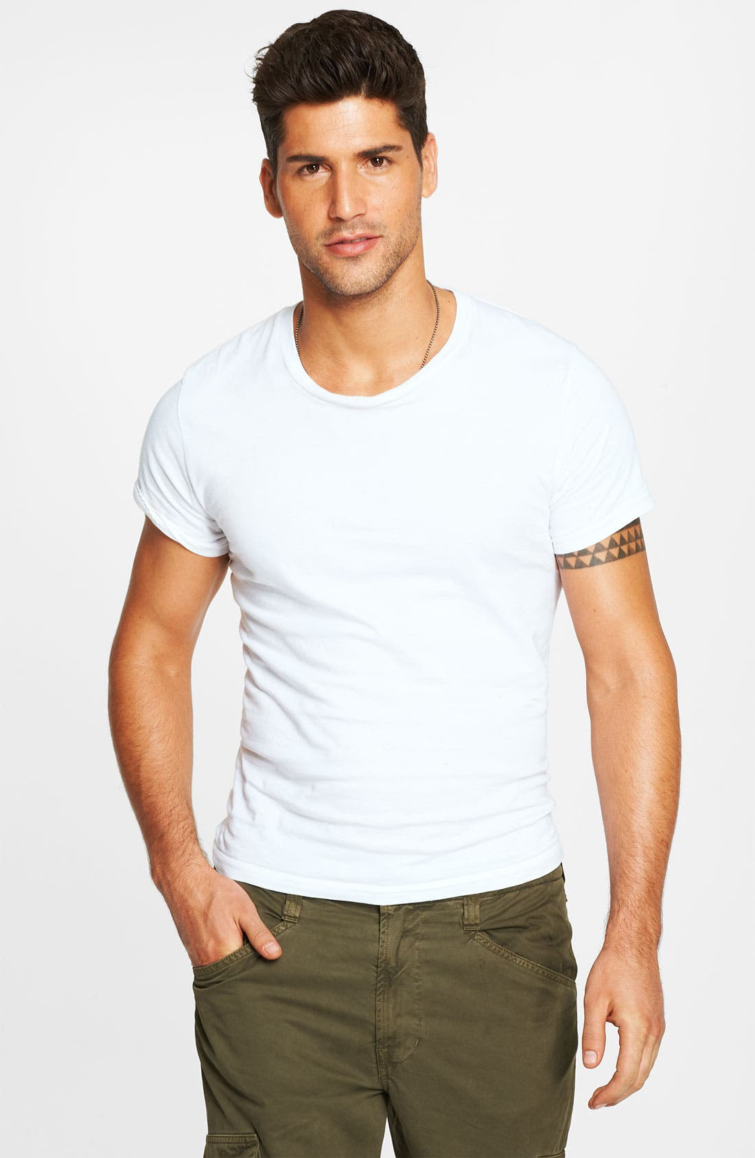 Alternate Image 1 Selected - Calvin Klein 'U9001' Cotton Crewneck T-Shirt (3-Pack)