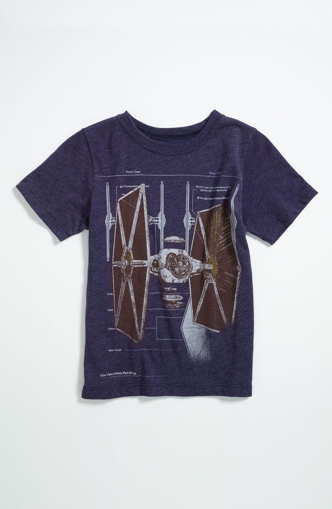 Main Image - Mighty Fine 'Fighter Scheme' T-Shirt (Little Boys)