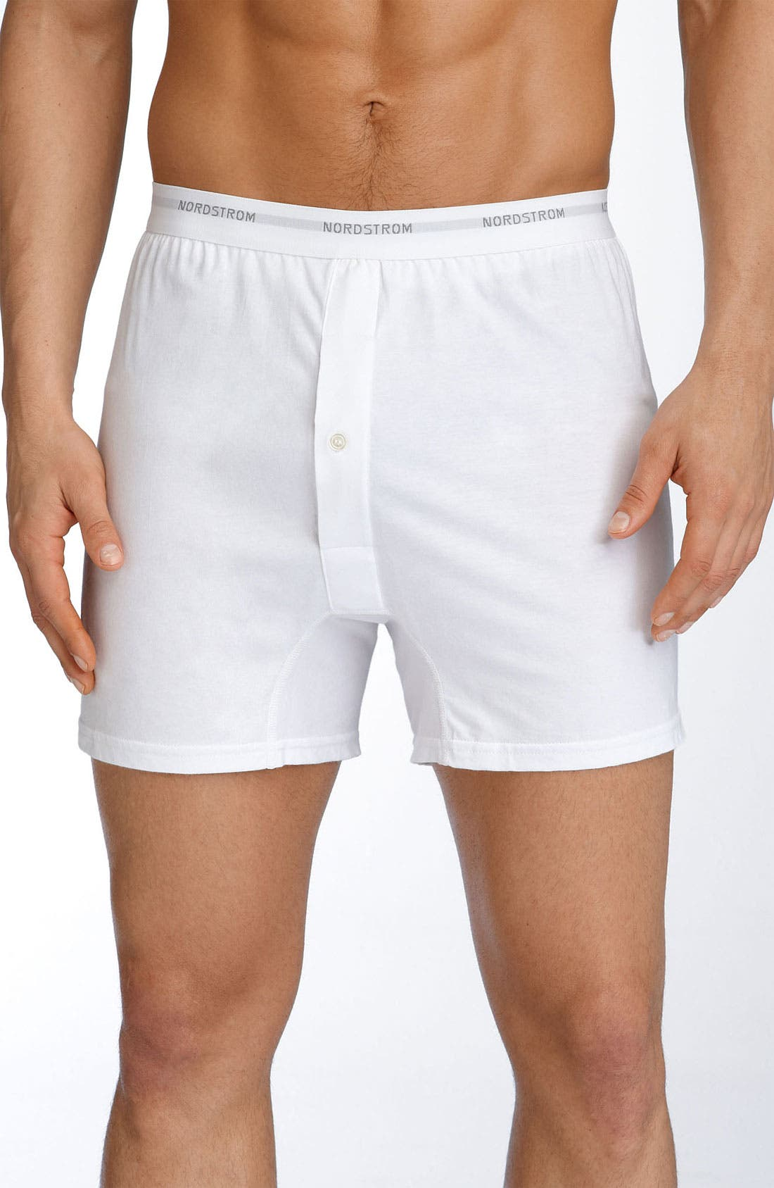 Alternate Image 1 Selected - Nordstrom Men's Shop 3-Pack Supima® Cotton Boxers