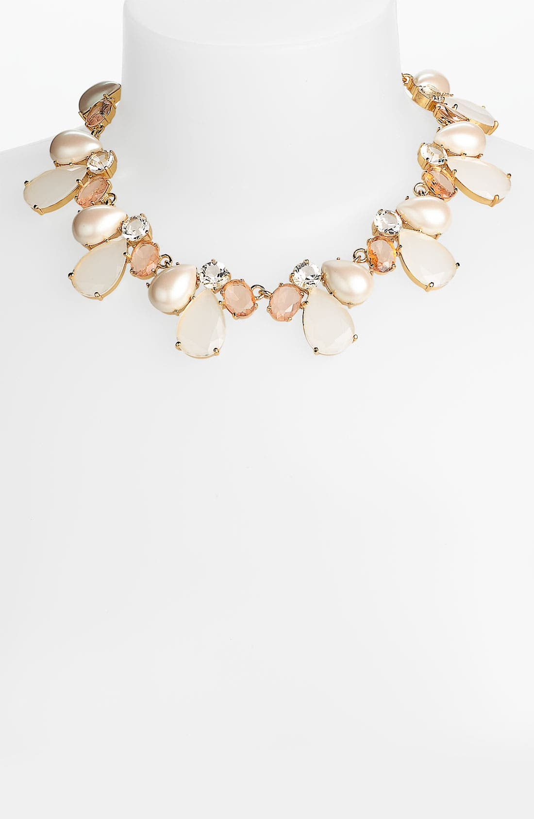 Main Image - kate spade new york 'crystal chapel' collar necklace