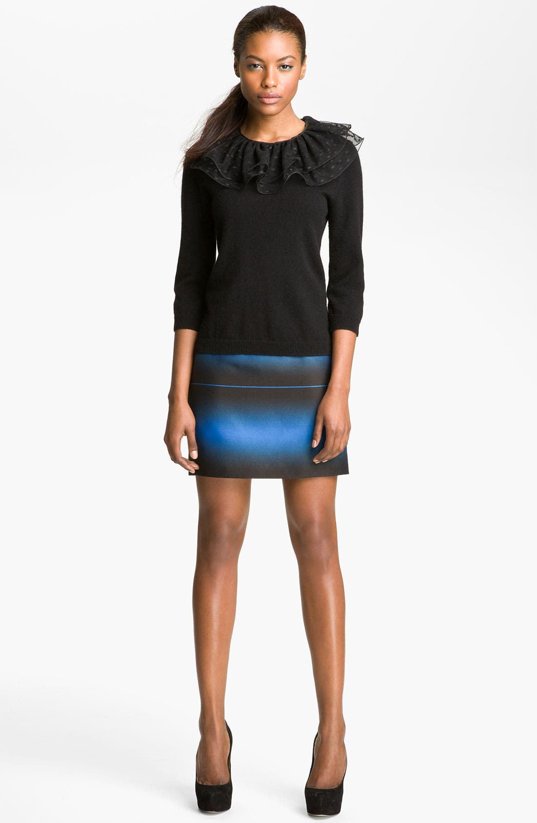 Alternate Image 3  - MARC BY MARC JACOBS 'Sonia' Lace Collar Sweater