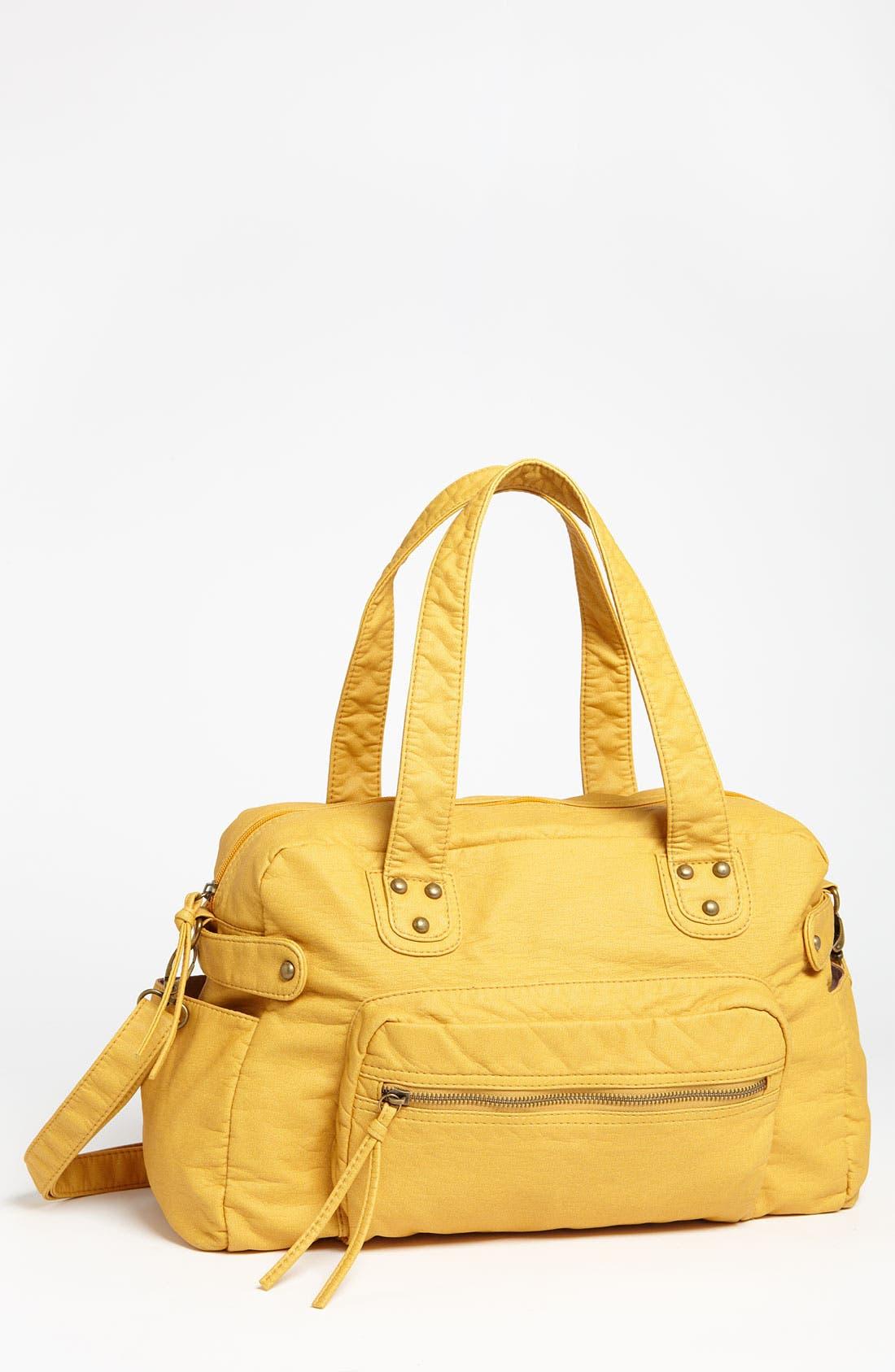 Alternate Image 1 Selected - Cesca Faux Leather Soft Satchel