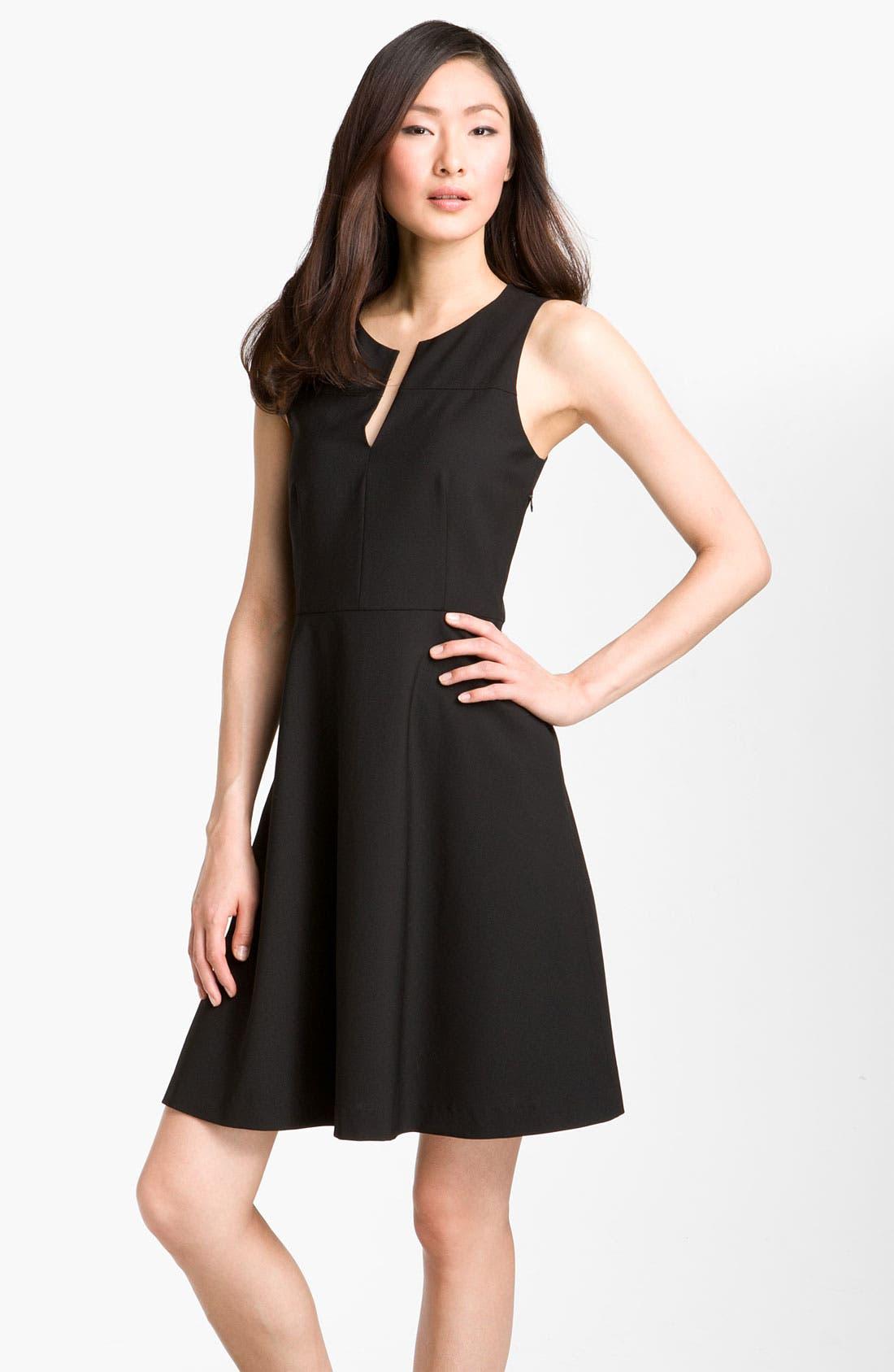 Main Image - Theory 'Etiara - Tailor' V-Neck Dress