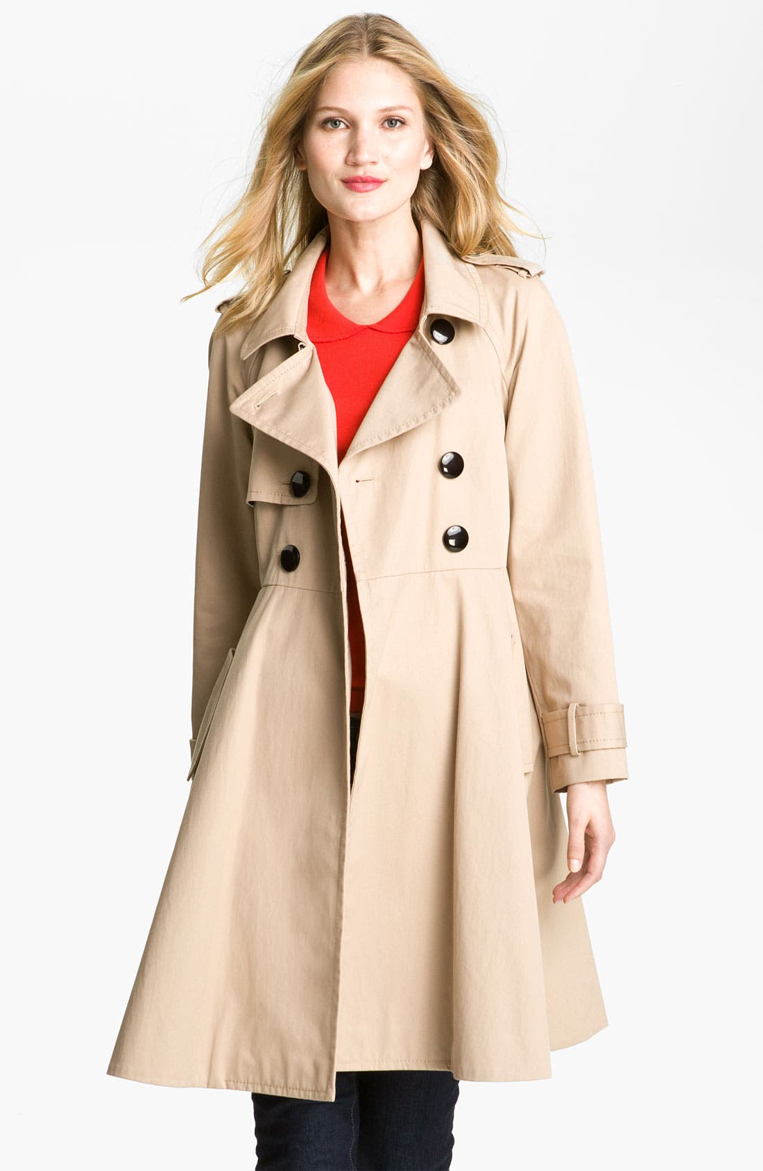 Alternate Image 3  - kate spade new york 'dianne' trench coat