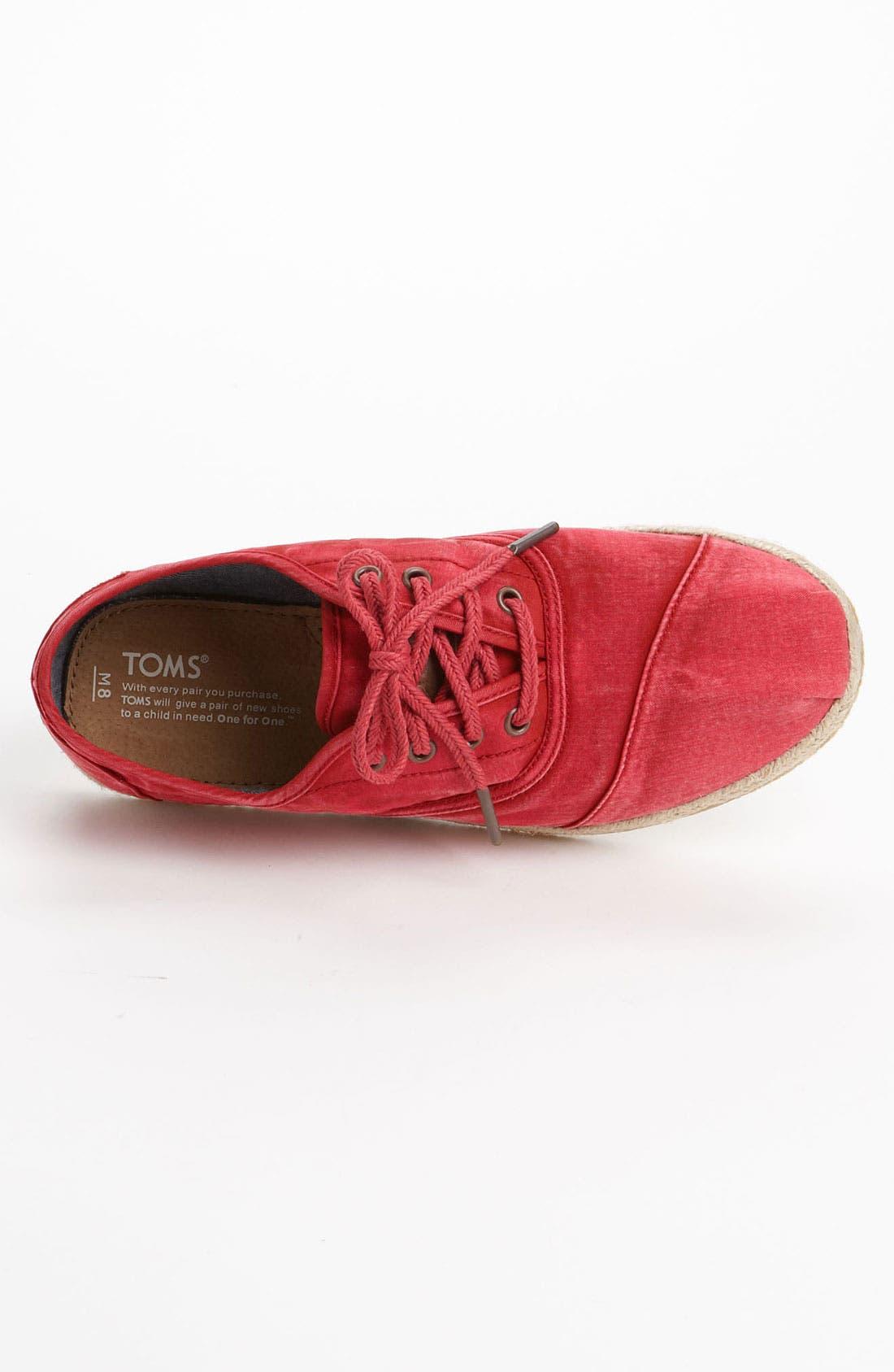 Alternate Image 3  - TOMS 'Cordones' Sneaker (Men)
