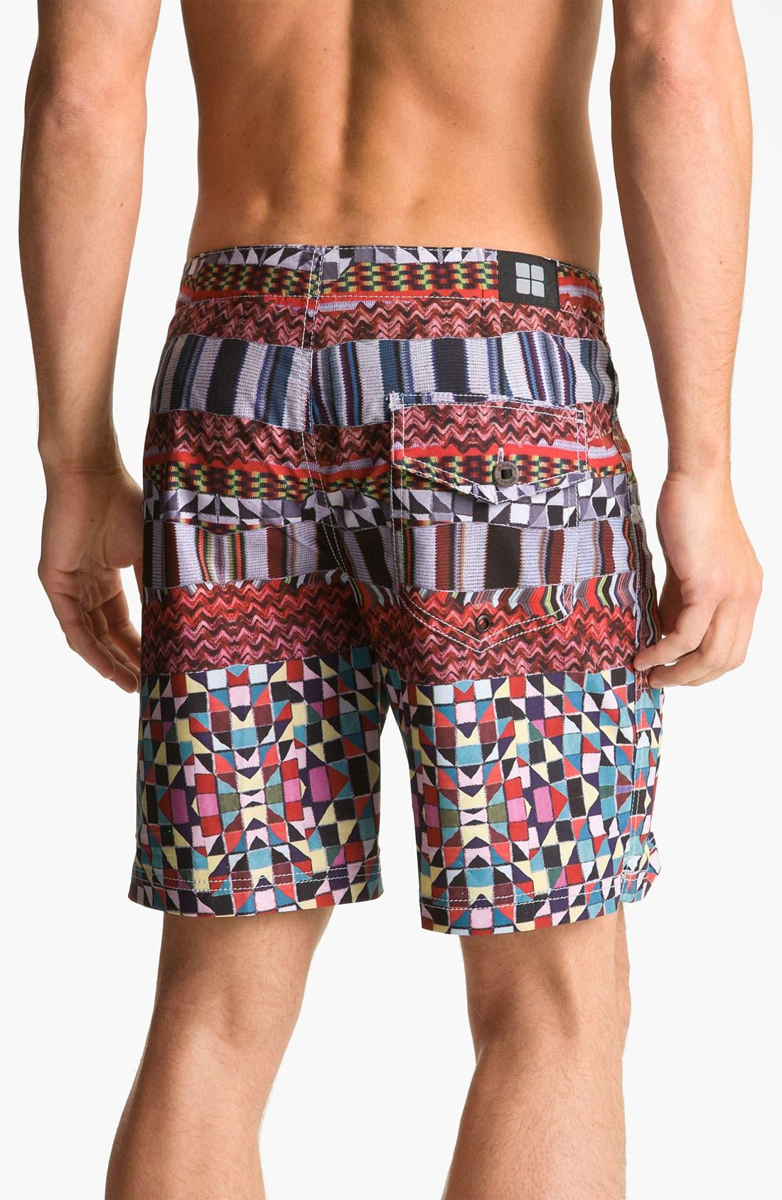 Alternate Image 2  - Insight 'Knitta Mind' Board Shorts