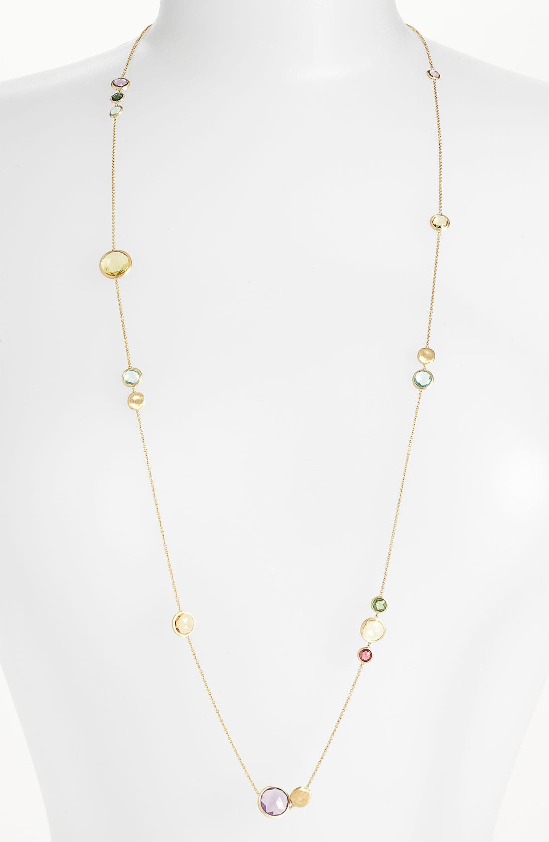 Alternate Image 1 Selected - Marco Bicego 'Jaipur' Long Station Necklace