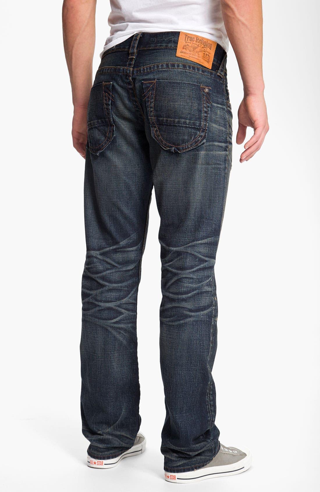 Main Image - True Religion Brand Jeans 'Bobby' Straight Leg Jeans (Snyper)