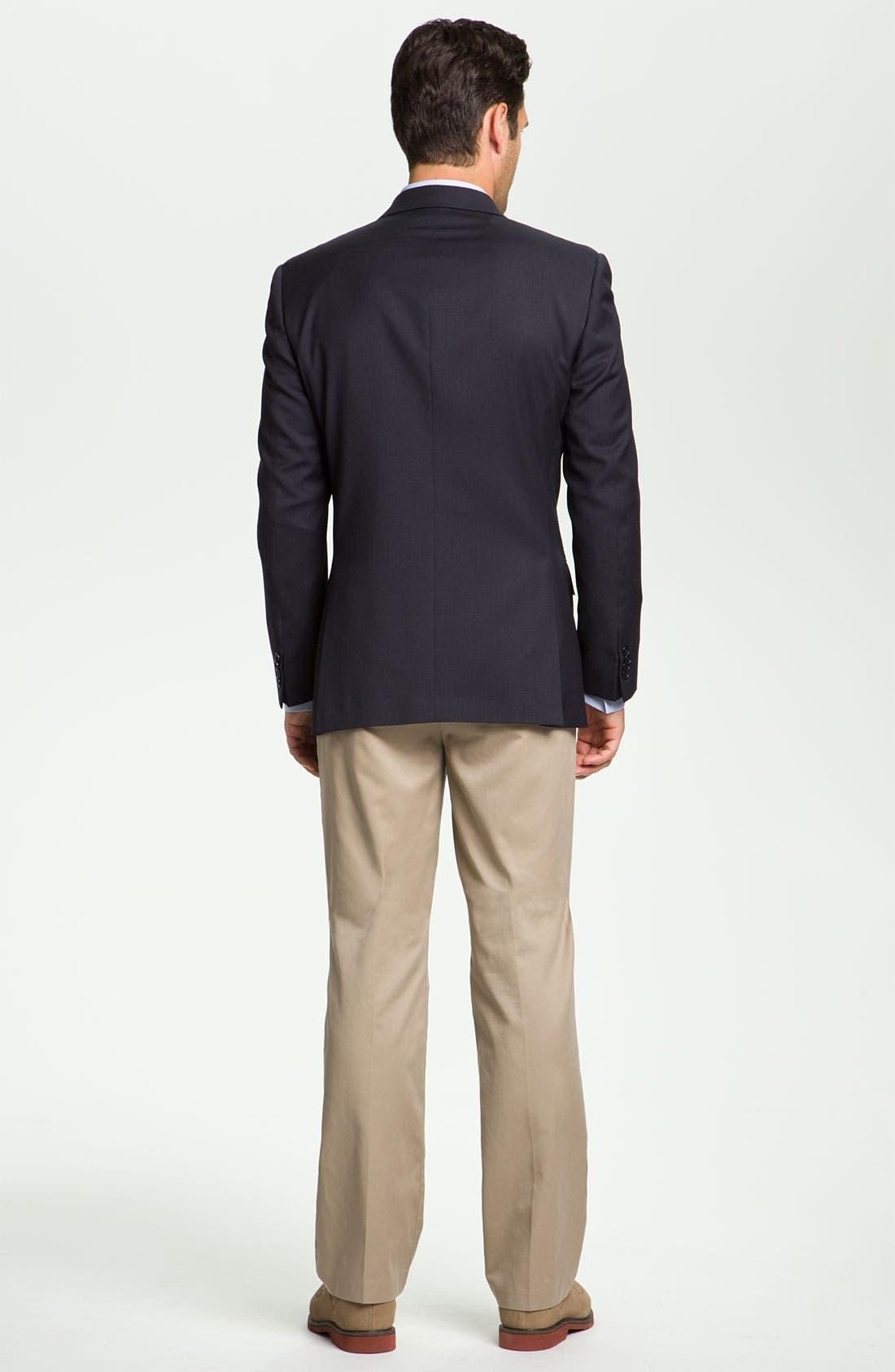 Alternate Image 5  - John Varvatos Star USA 'Loft' Trim Fit Wool Jacket