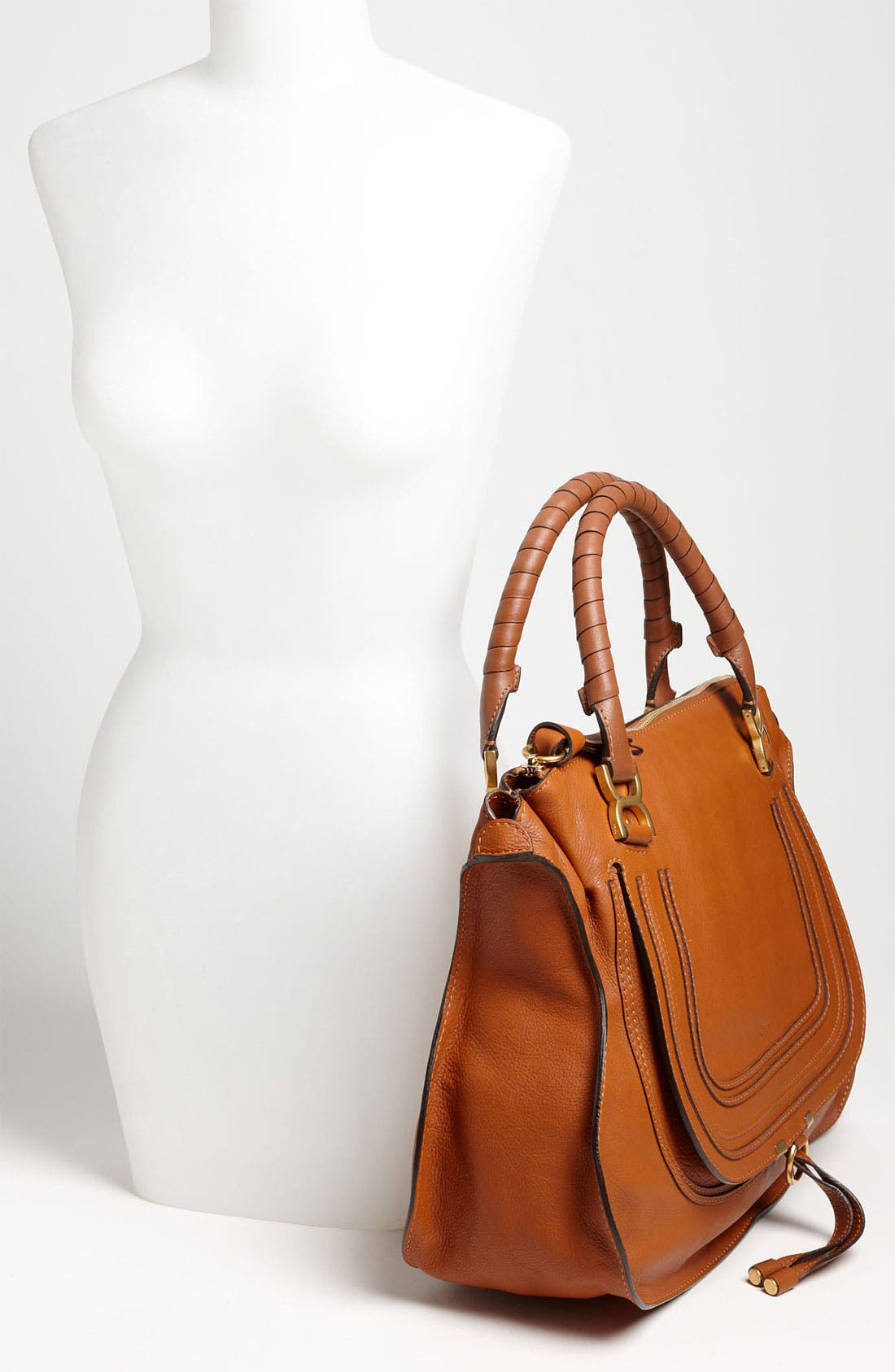 Alternate Image 2  - Chloé Large Marcie Leather Satchel