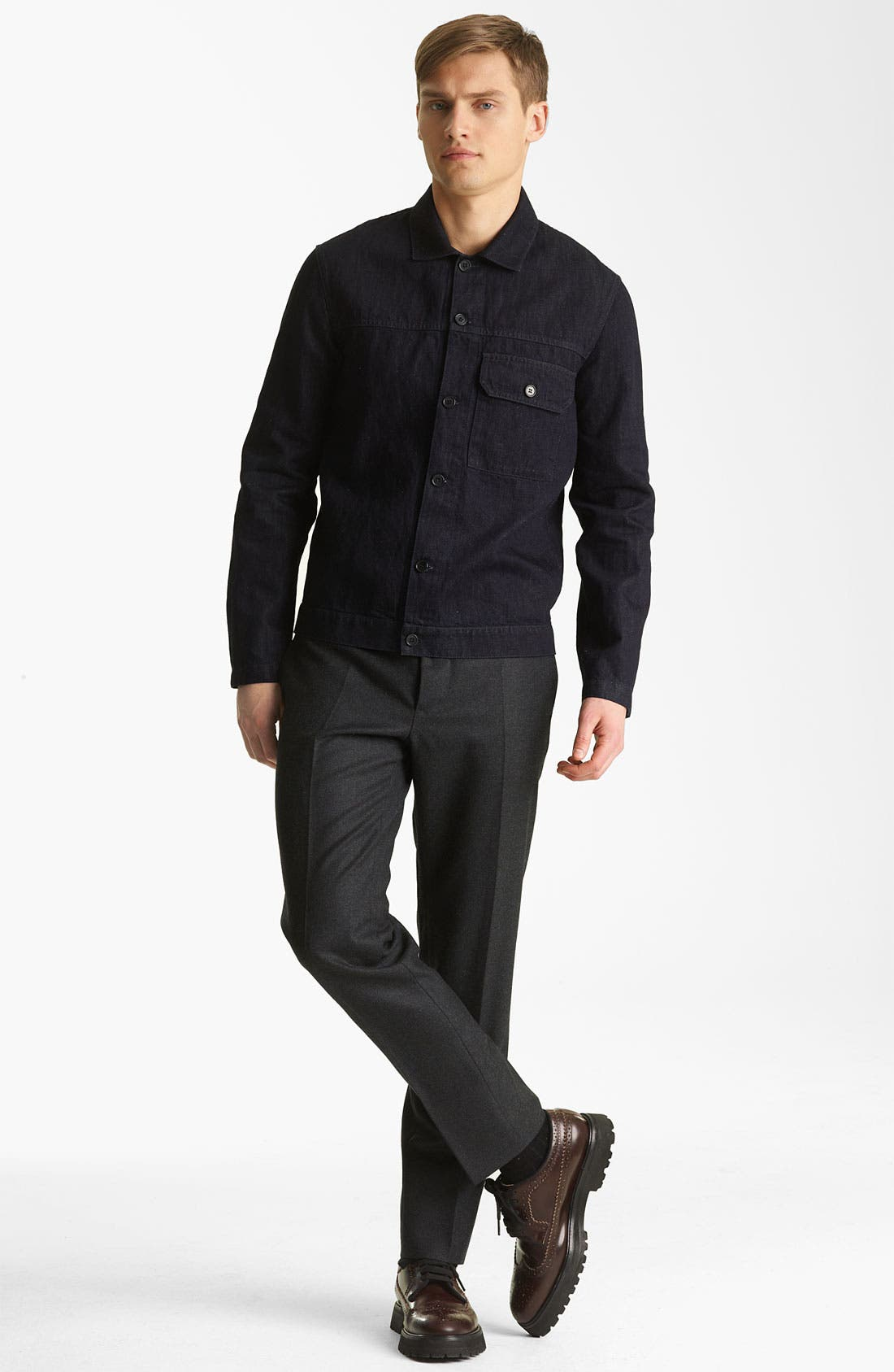 Alternate Image 7  - Marni Twisted Wool Trousers